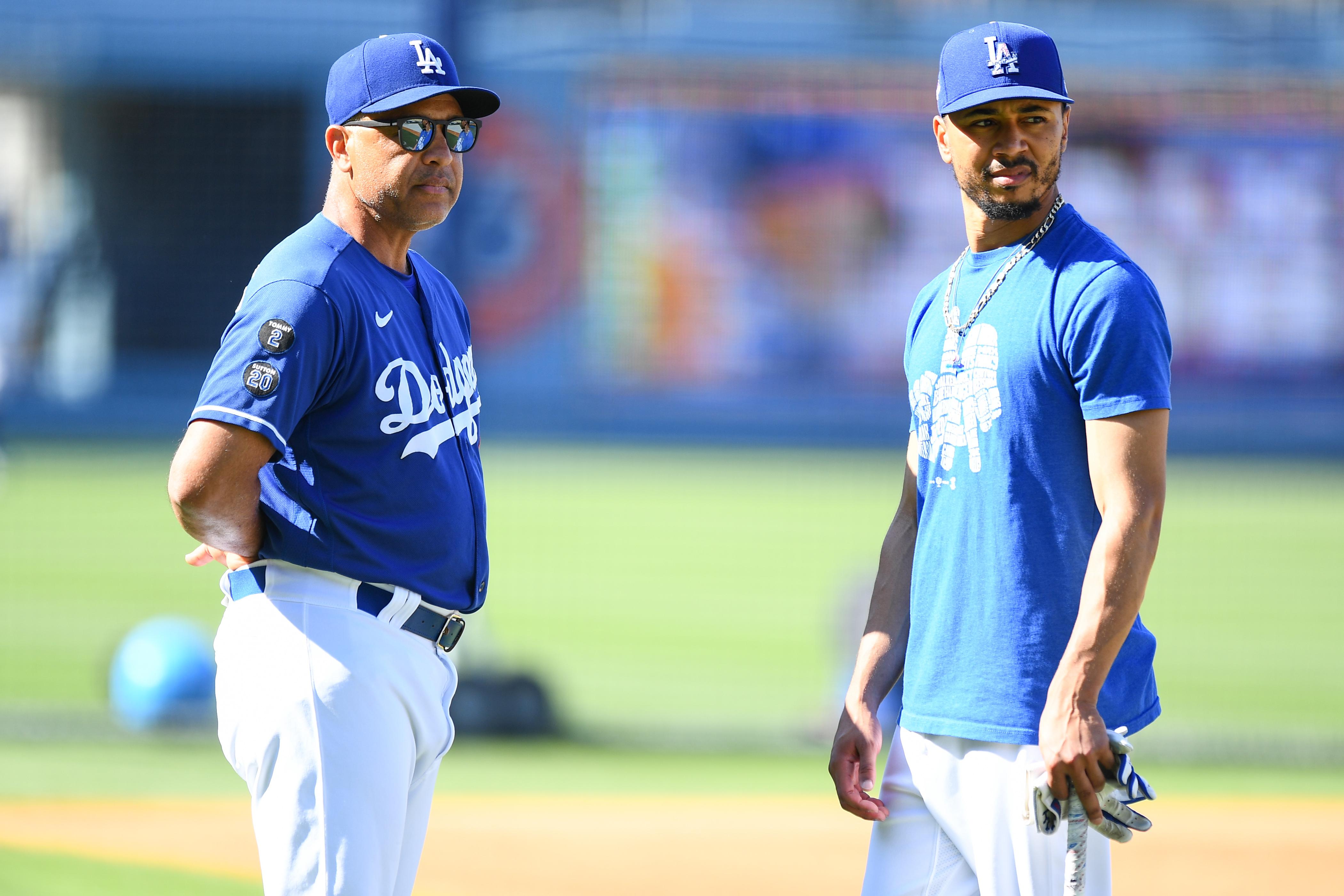 MLB: JUL 19 Giants at Dodgers