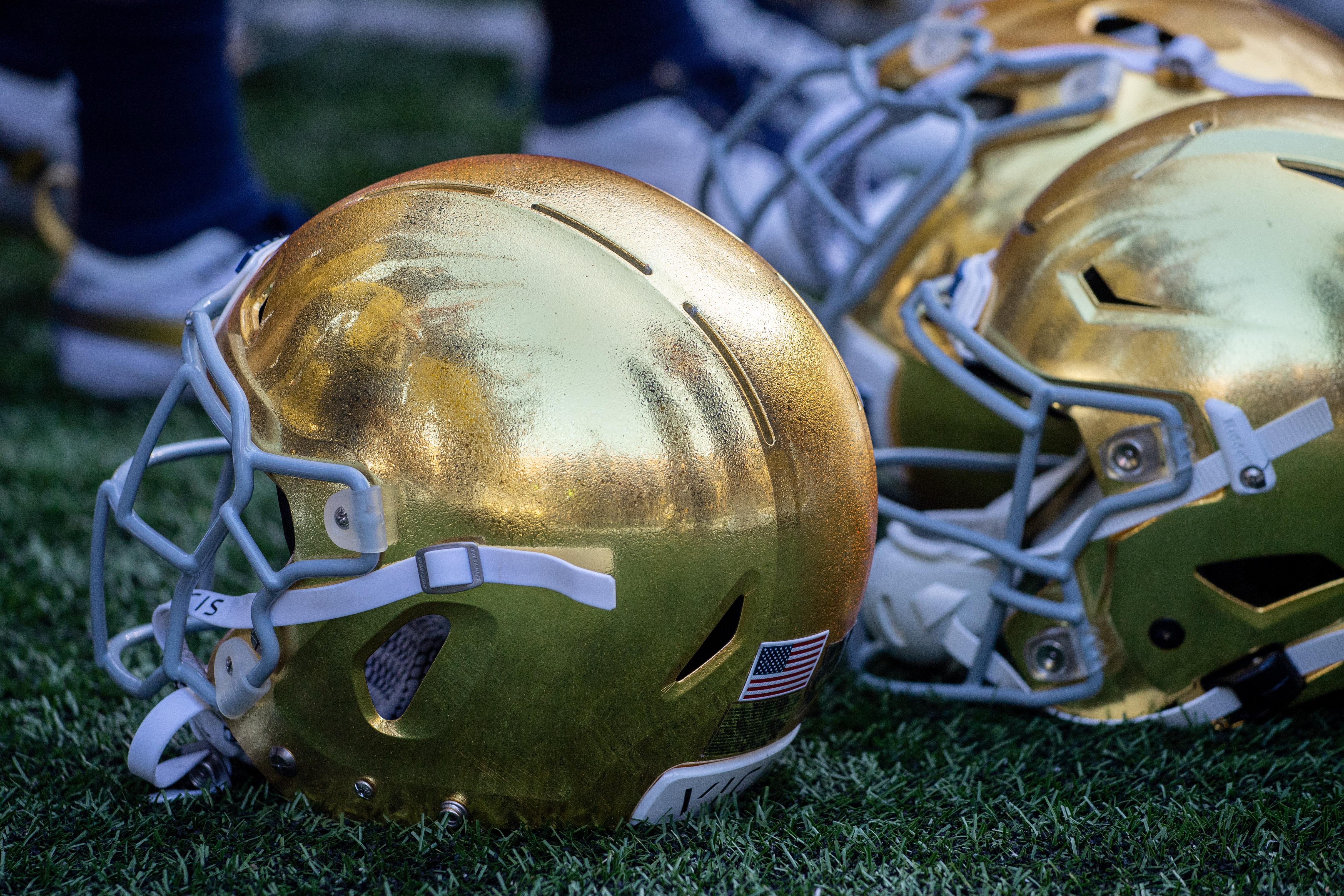 NCAA Football: New Mexico at Notre Dame