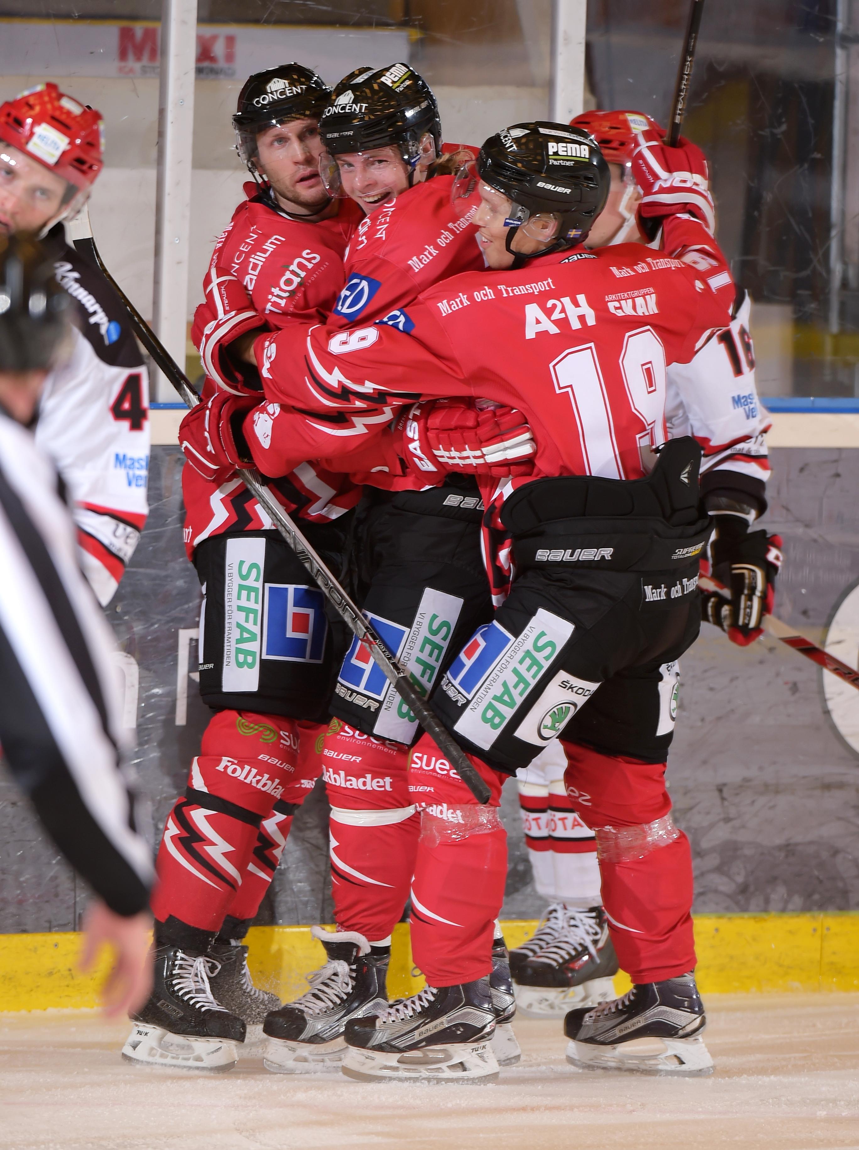 Vita Haesten v Almtuna IS - Hockey Allsvenskan