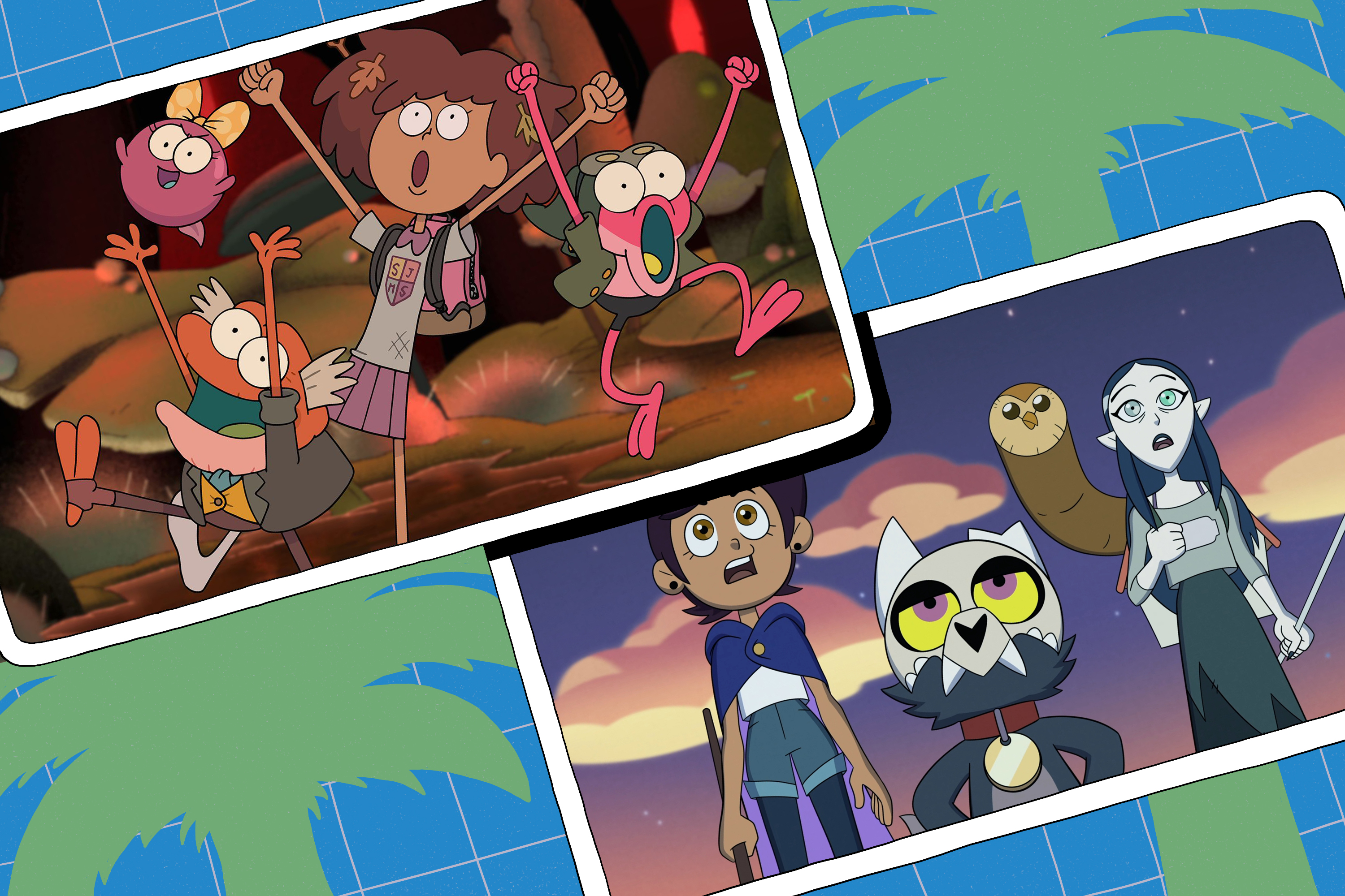 The Owl House and Amphibia stills