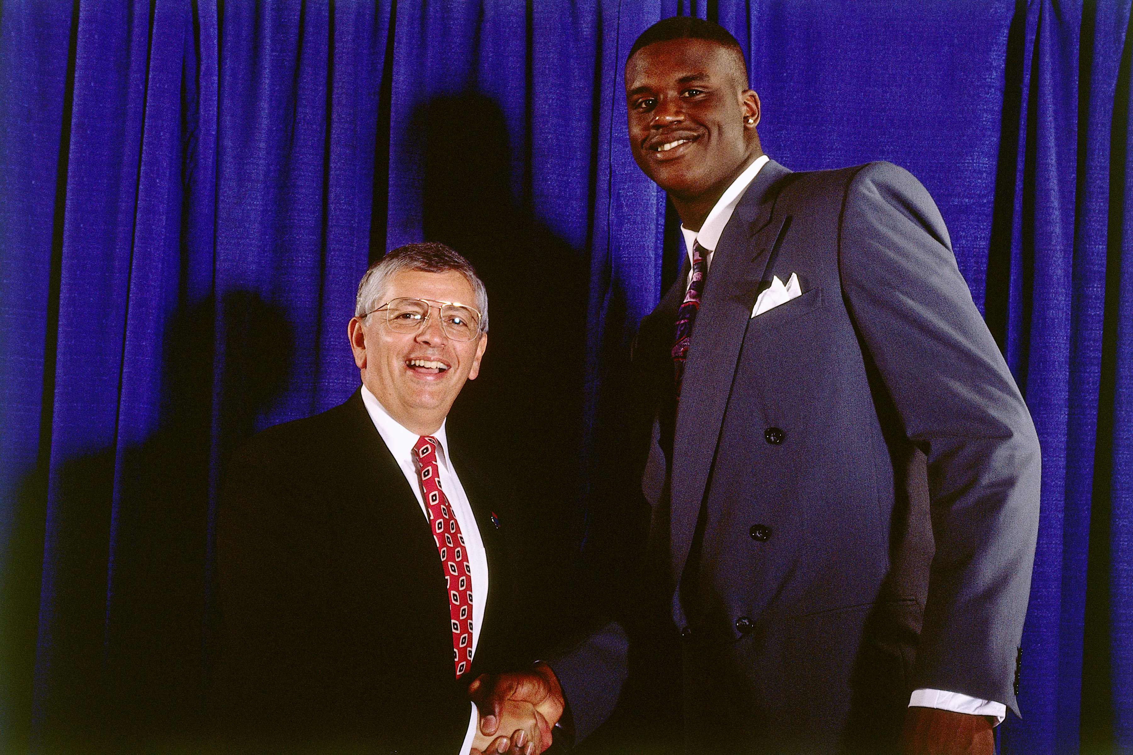 Shaquille O'Neal and David Stern Portrait