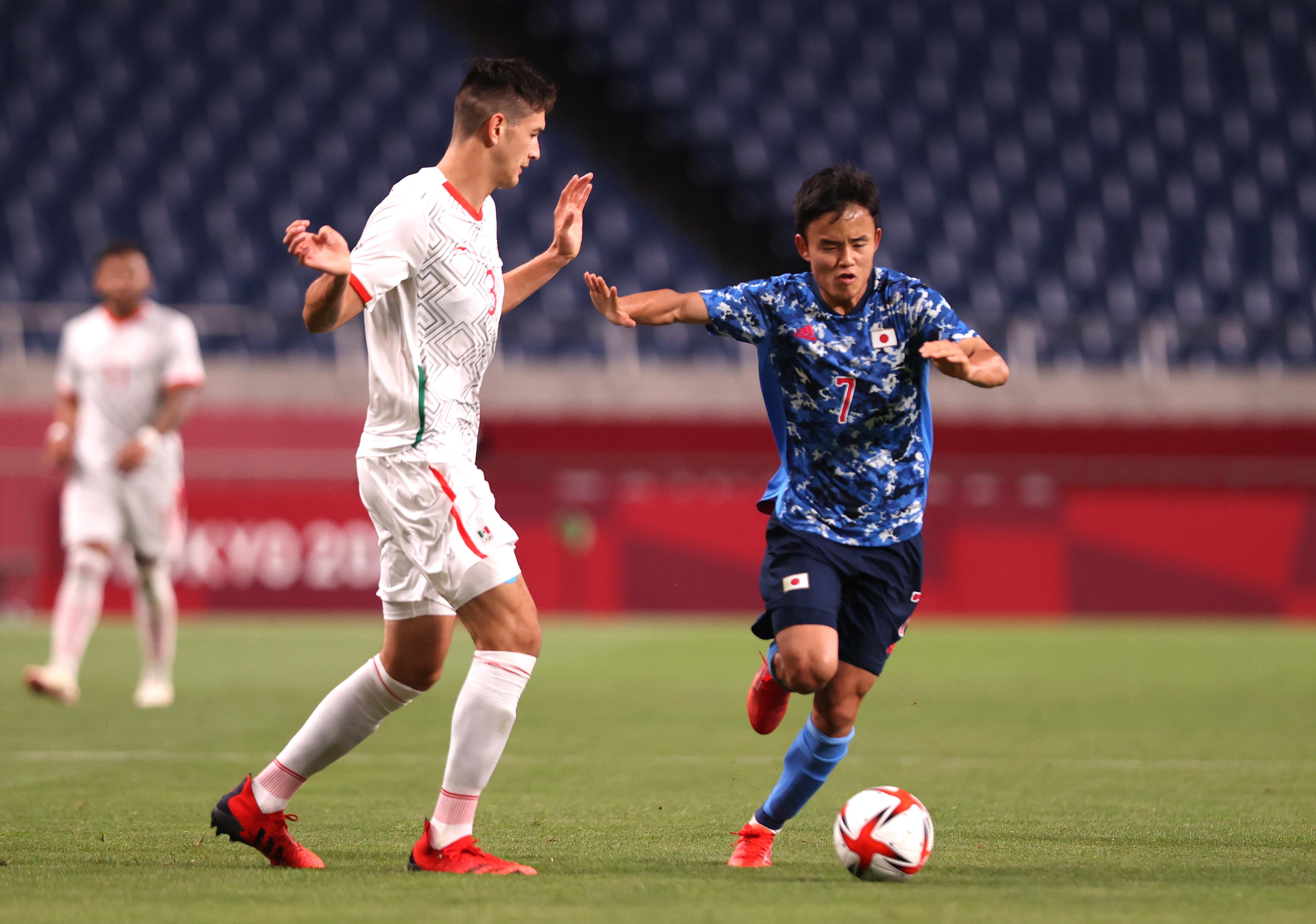 Japan v Mexico: Men's Football - Olympics: Day 2
