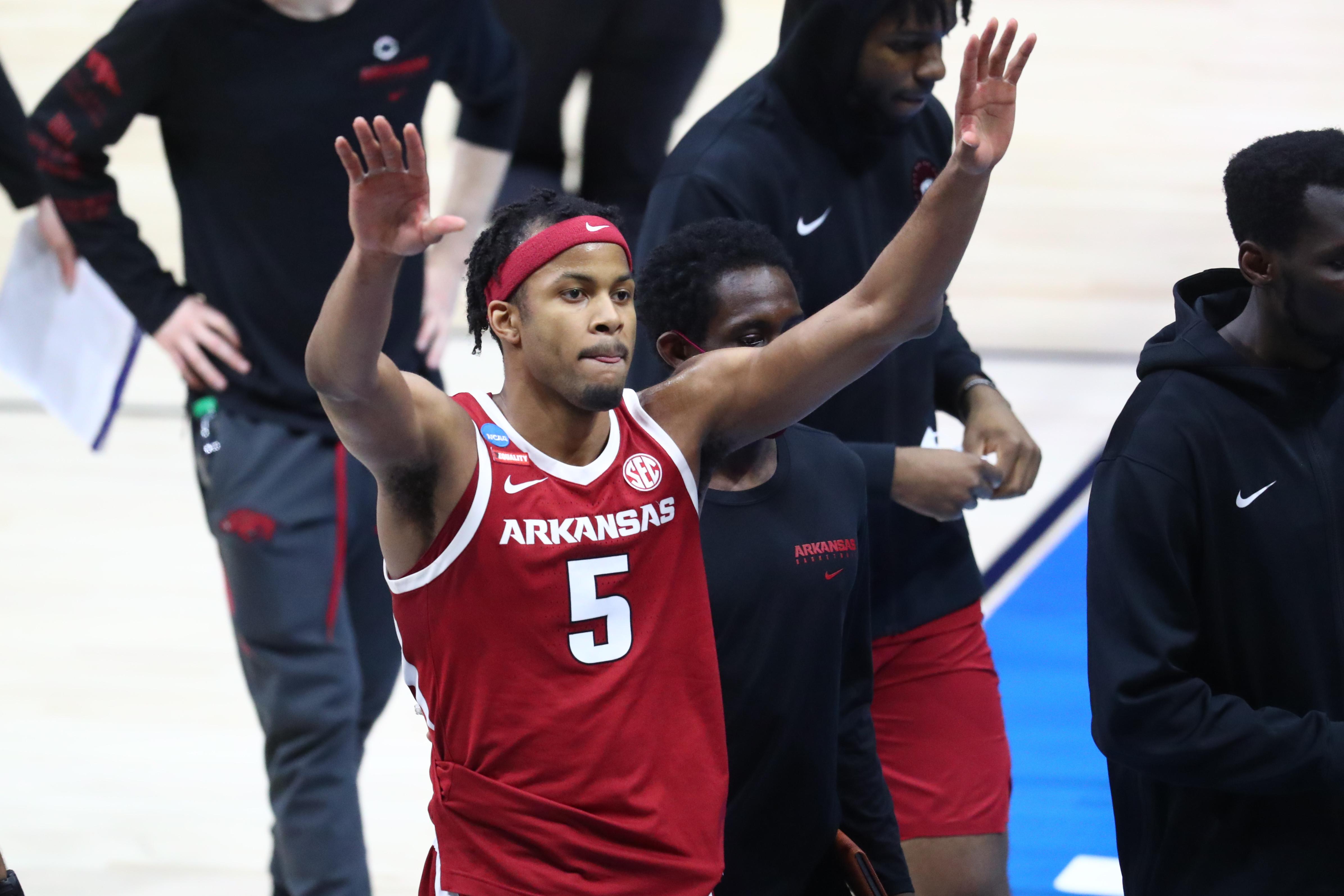 NCAA Basketball: NCAA Tournament-Arkansas at Baylor