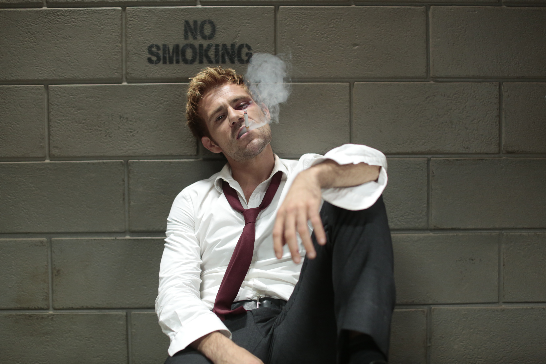 Matt Ryan as John Constantine on Constantine