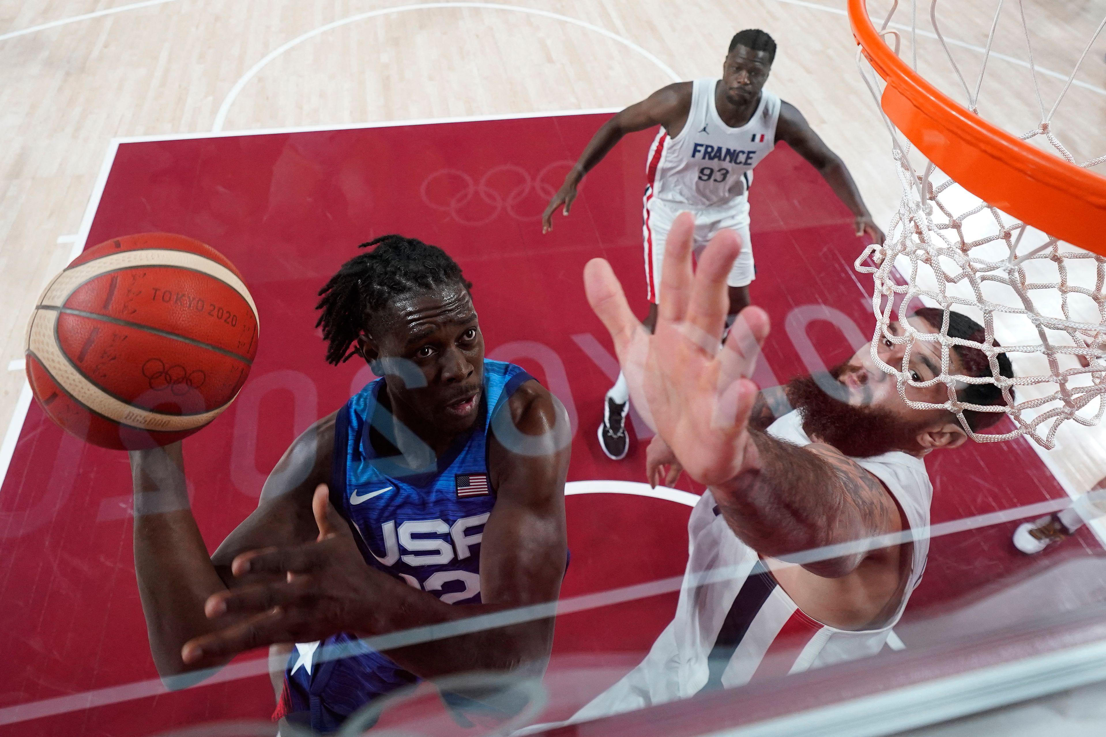 BASKETBALL-OLY-2020-2021-TOKYO-FRA-USA