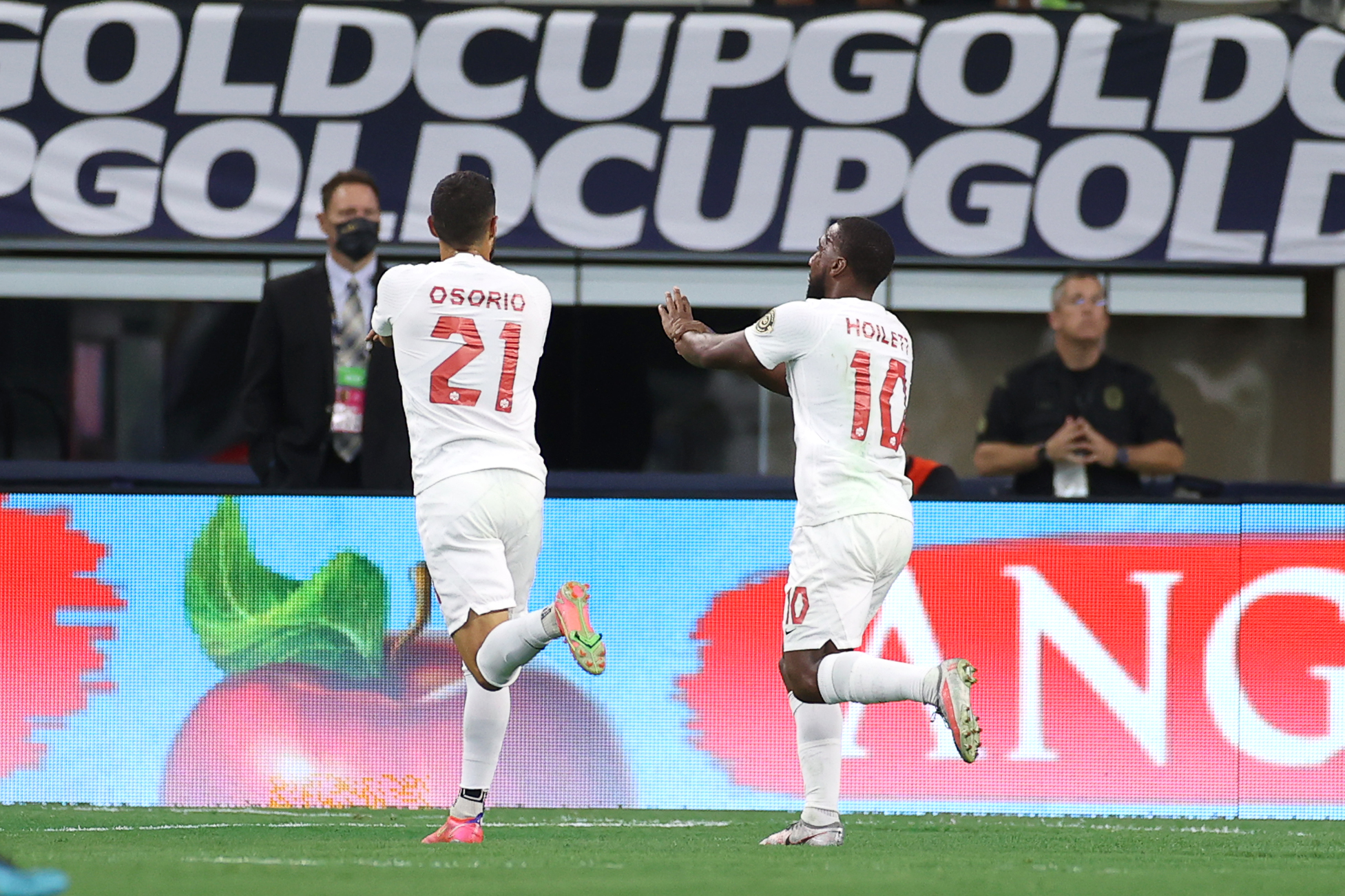 SOCCER: JUL 25 Concacaf Gold Cup Quarterfinal - Costa Rica v Canada