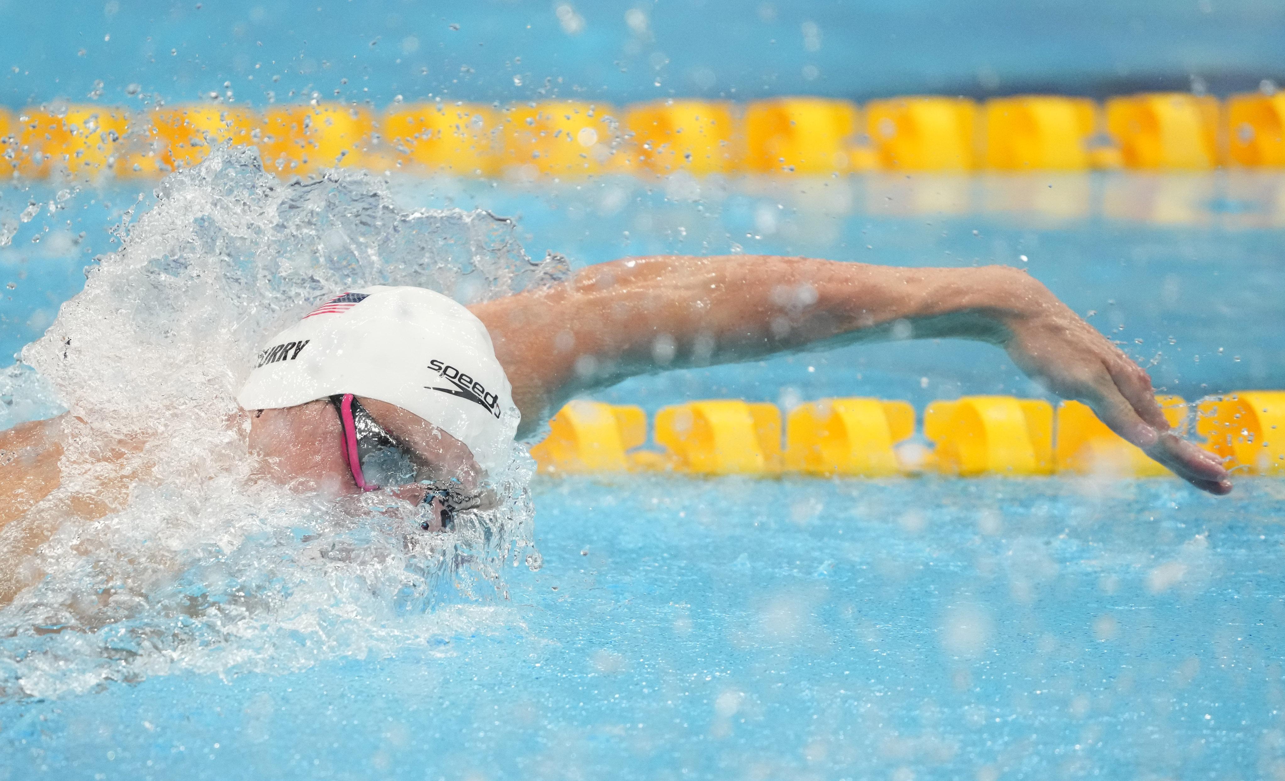 Olympics: Swimming-July 25