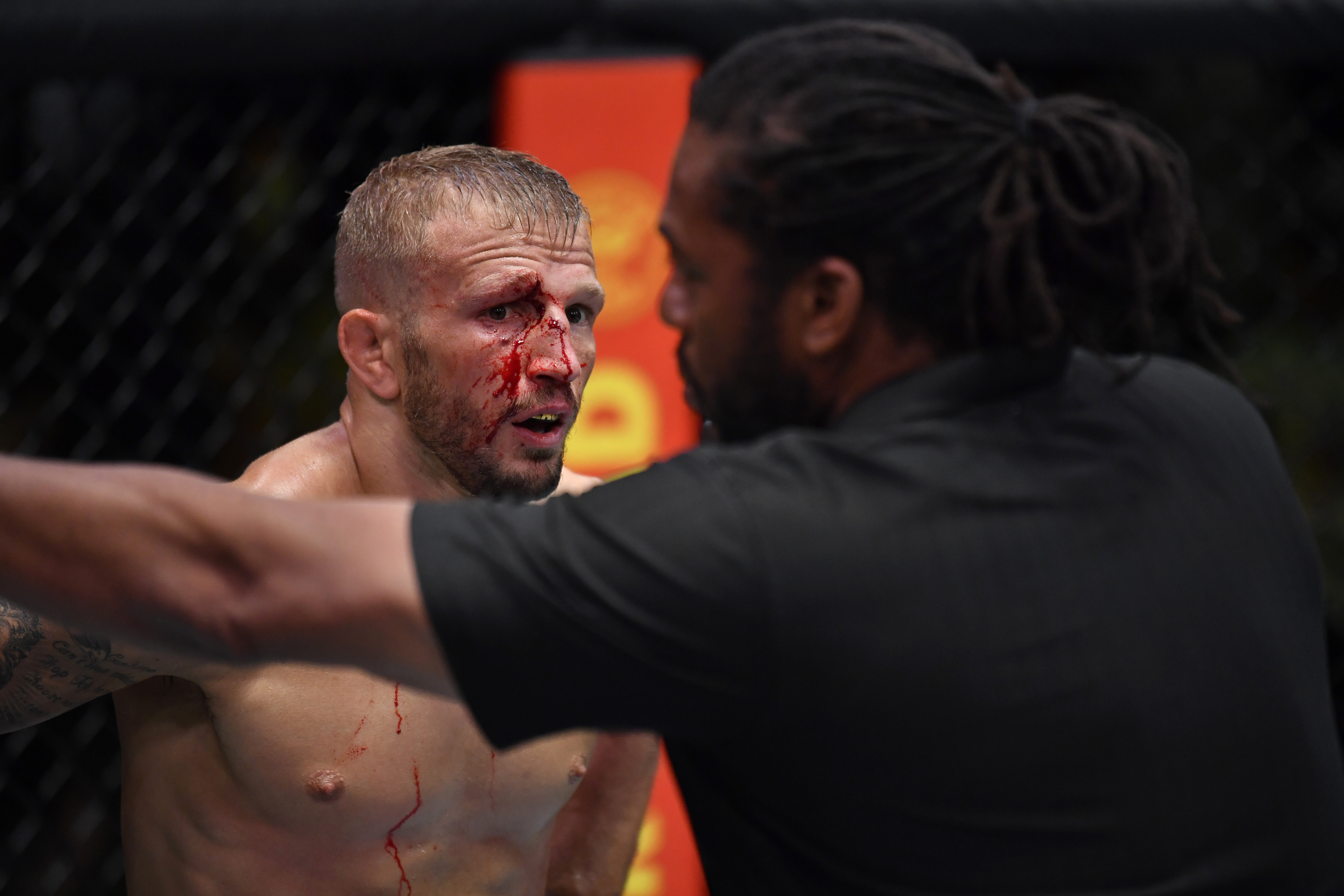T.J. Dillashaw had a rough training camp in preparation for his UFC Vegas 32 headliner against Cory Sandhagen.