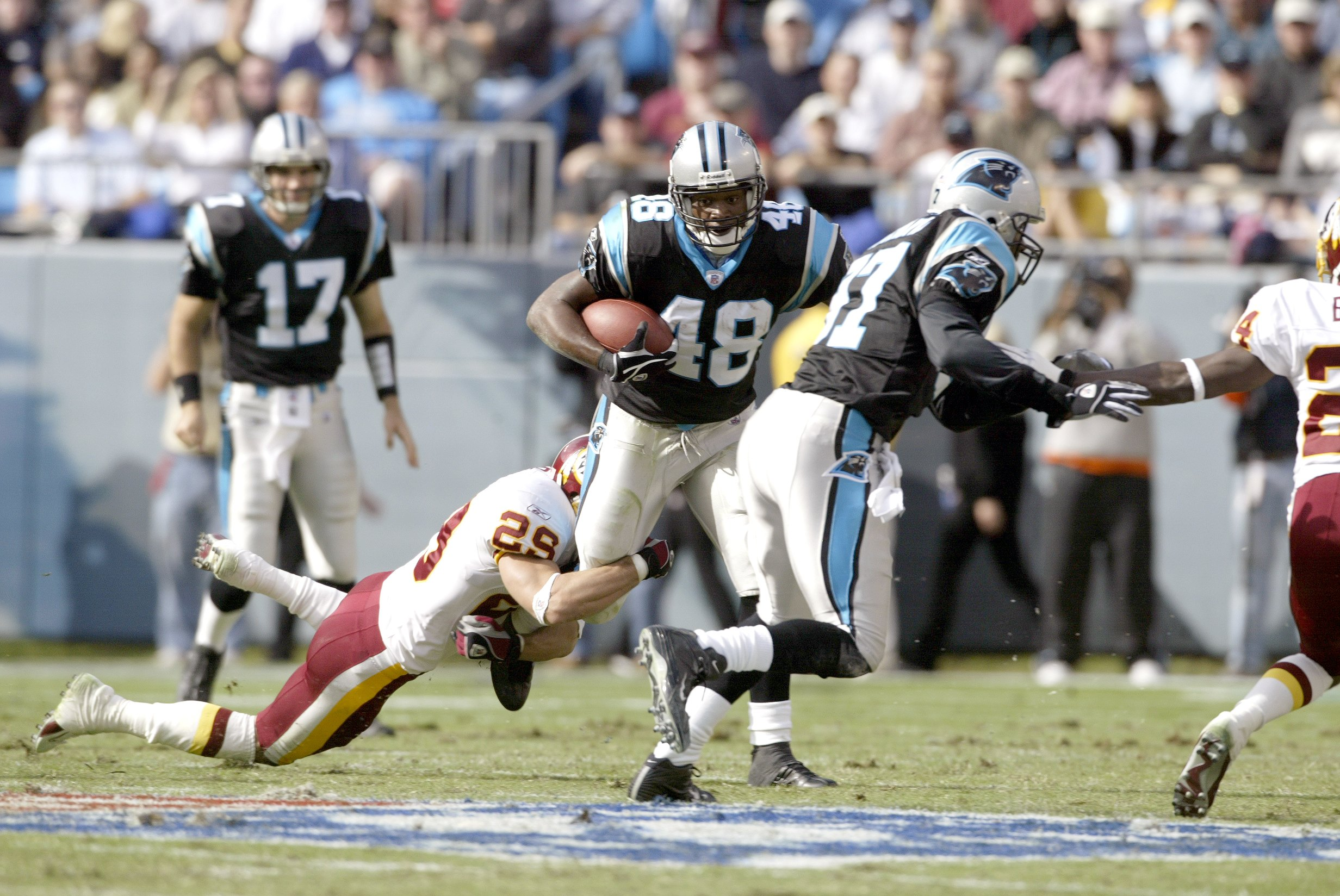 Washington Redskins vs Carolina Panthers