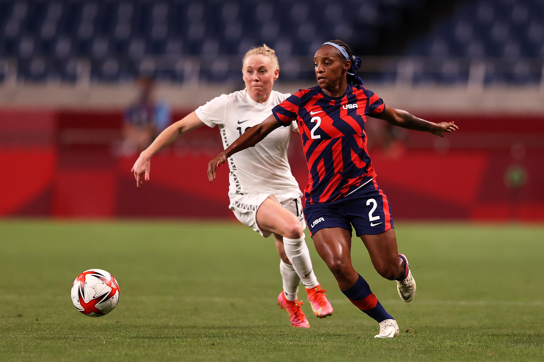 New Zealand v United States: Women's Football - Olympics: Day 1
