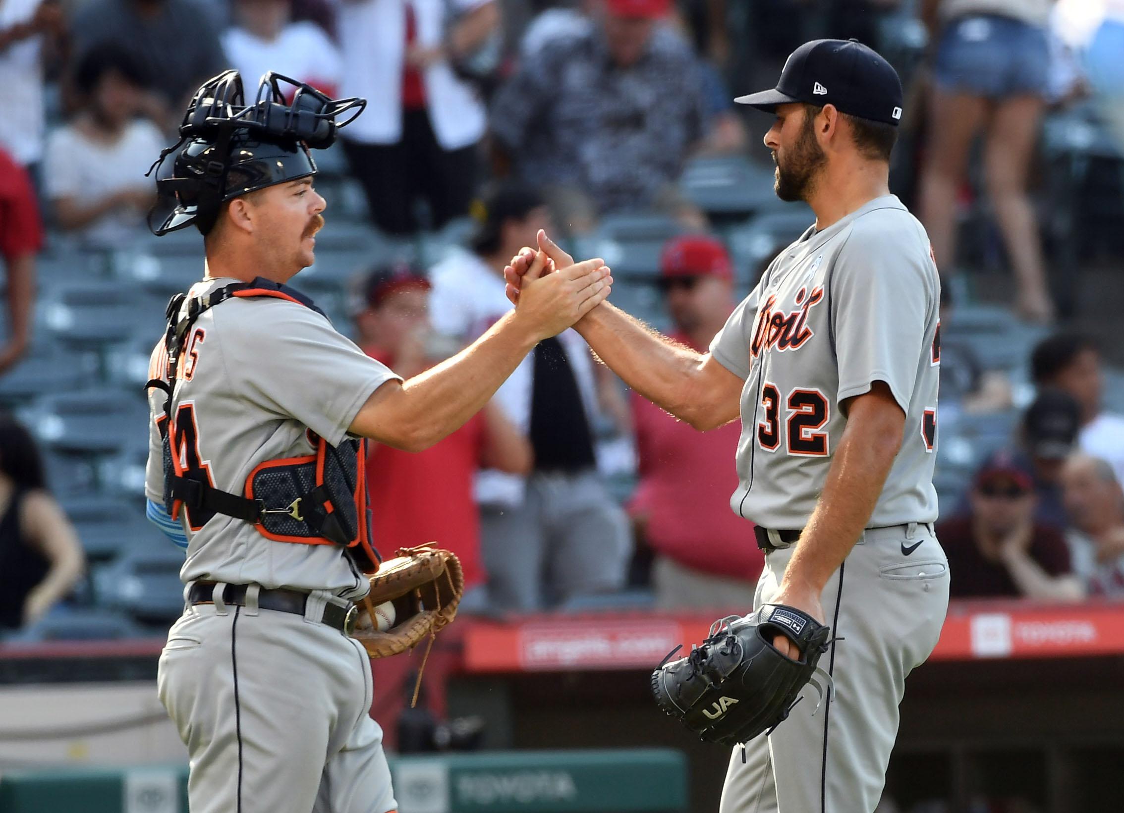 MLB: Detroit Tigers at Los Angeles Angels
