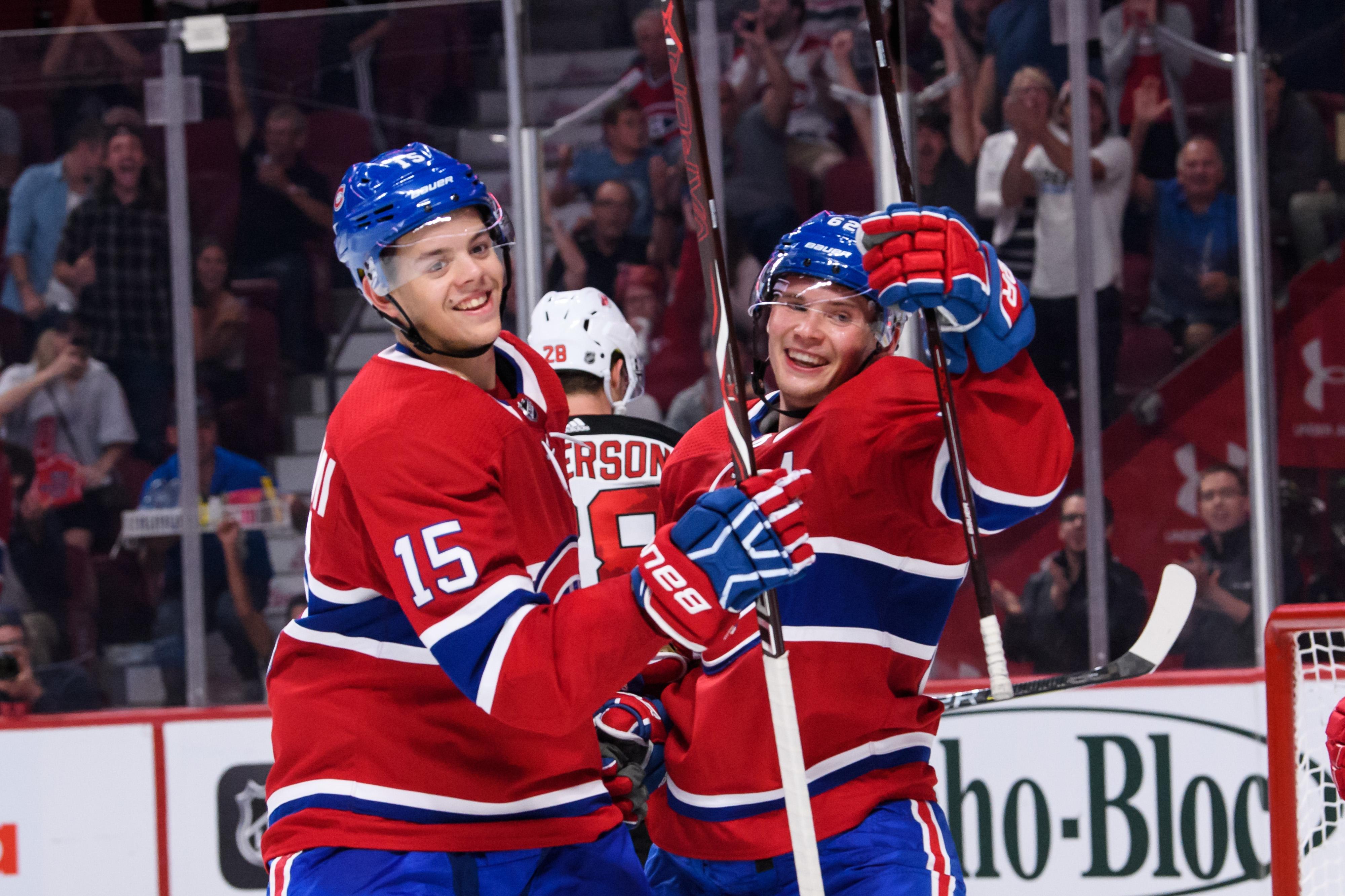 NHL: SEP 17 Preseason - Devils at Canadiens