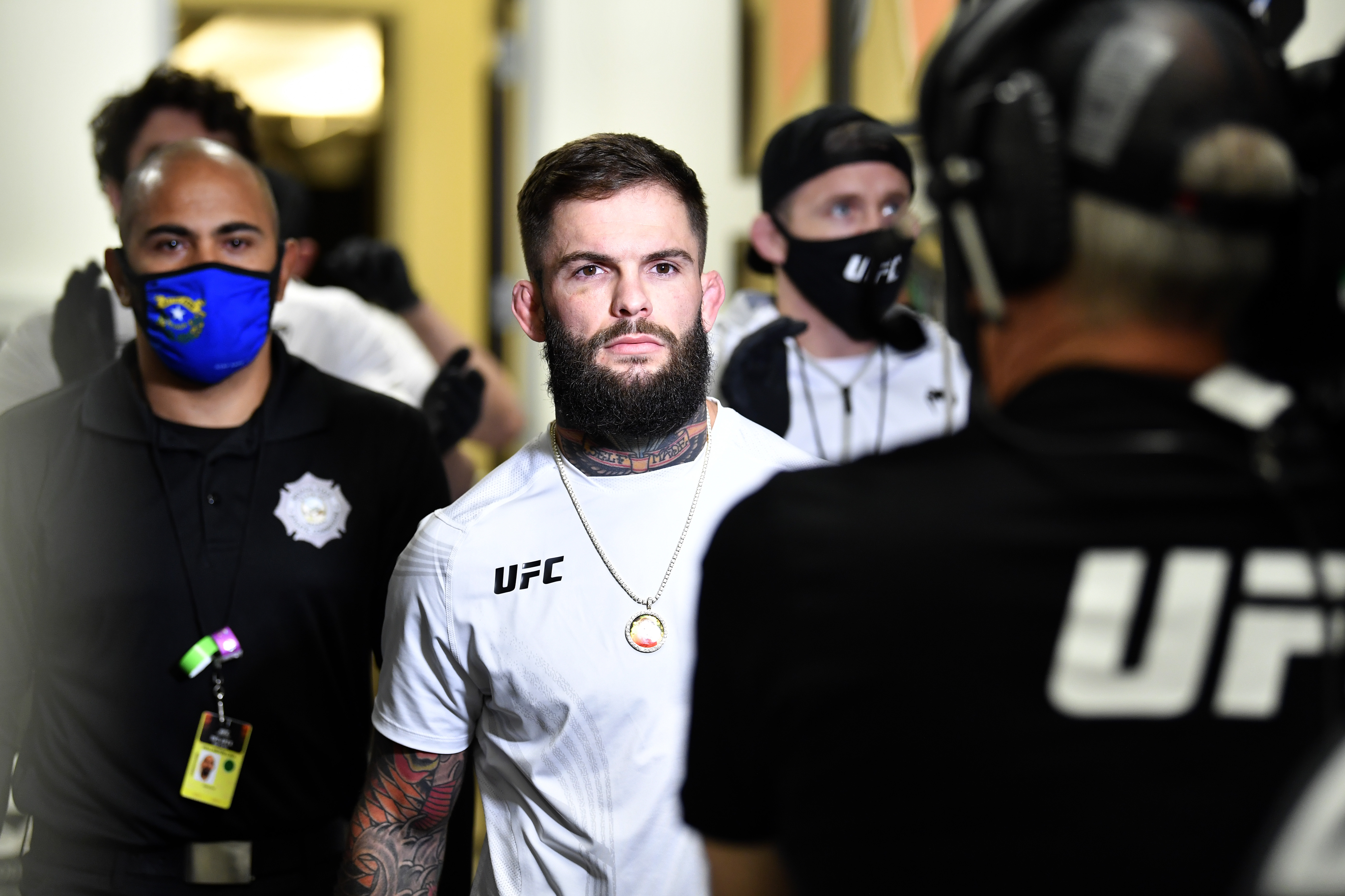 Cody Garbrandt before his fight with Ron Font at UFC Fight Night: Font vs. Garbrandt.