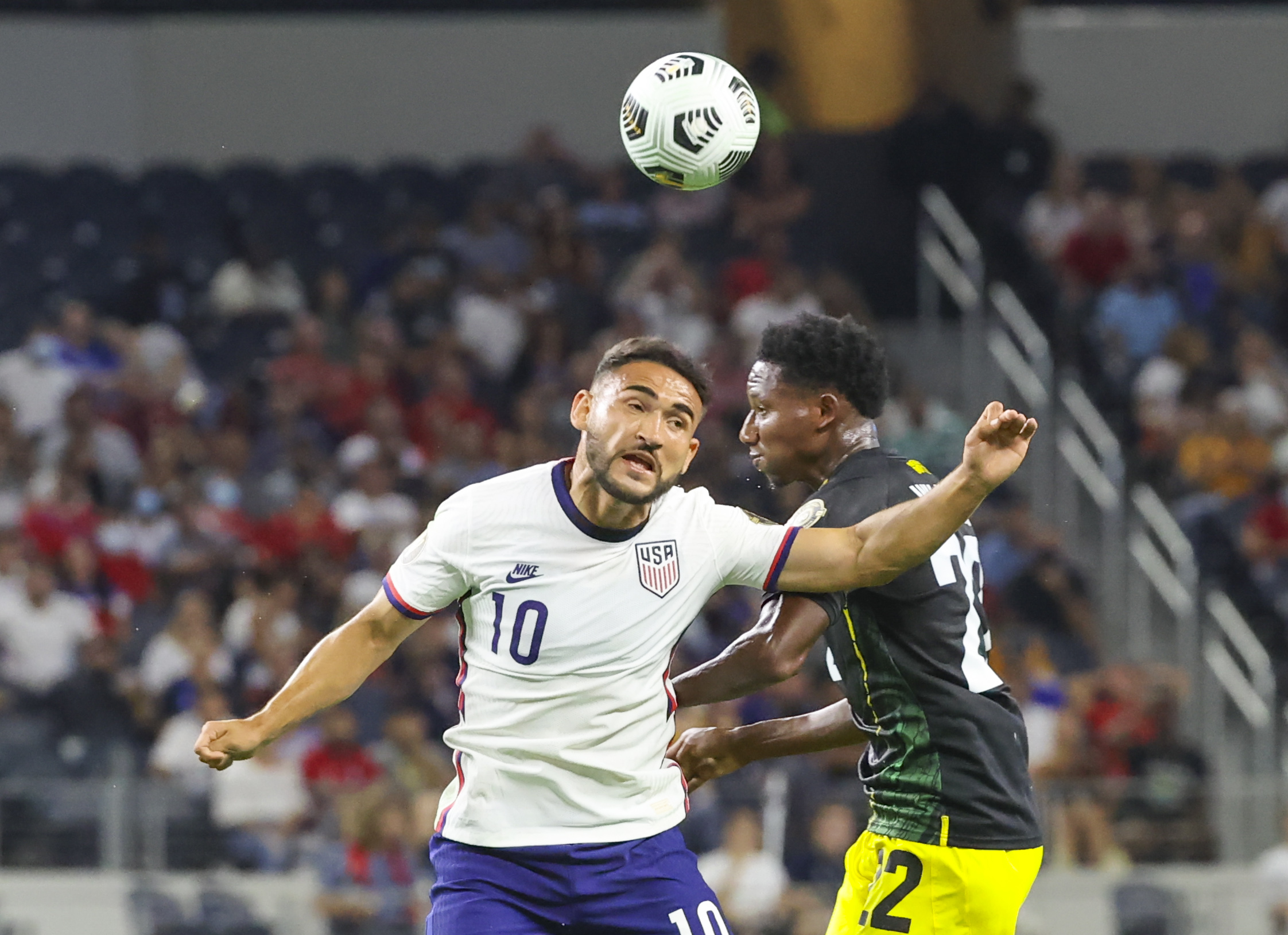 Soccer: CONCACAF Gold Cup Soccer-Jamaica at USA