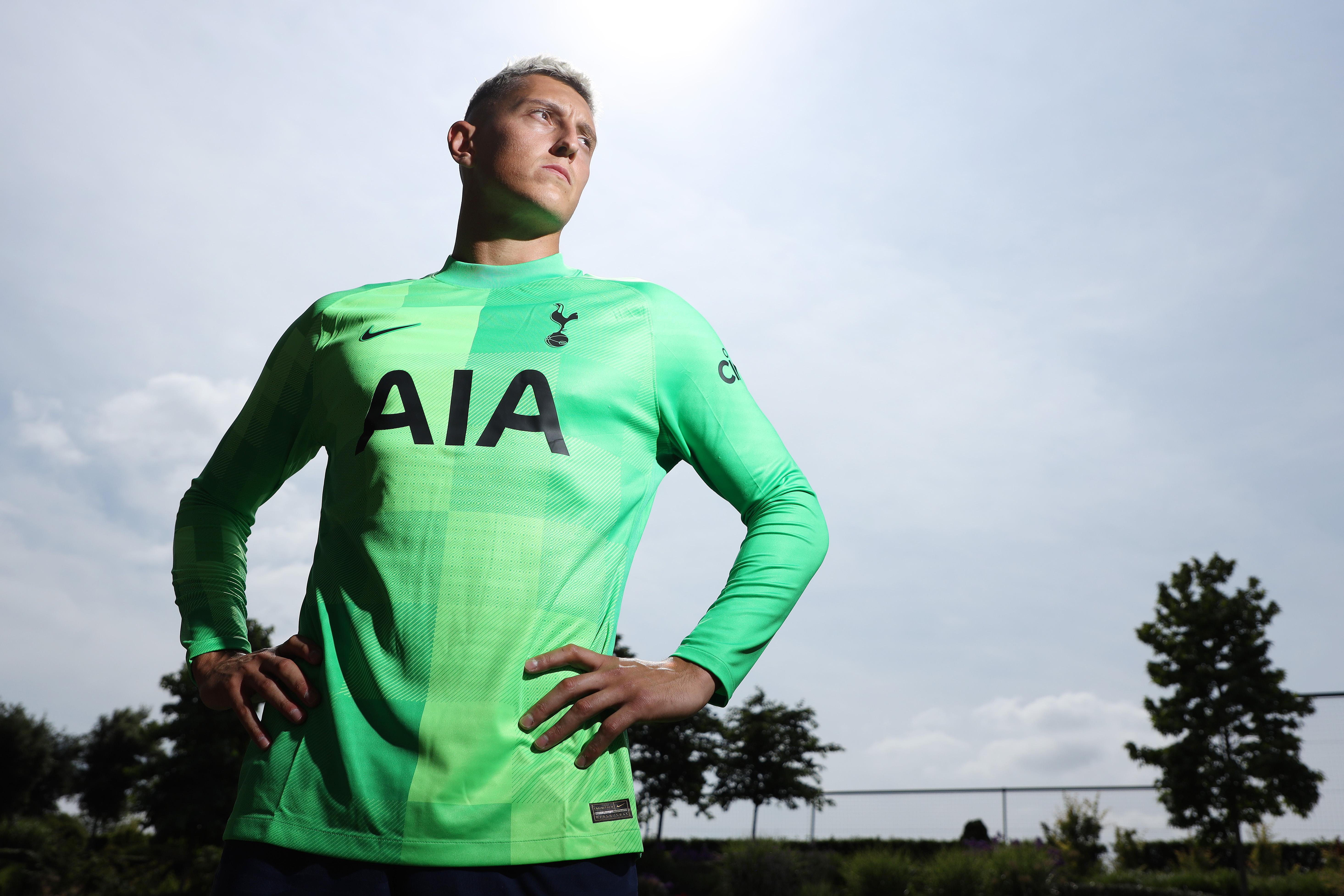 Tottenham Hotspur Unveil New Signing Pierluigi Gollini