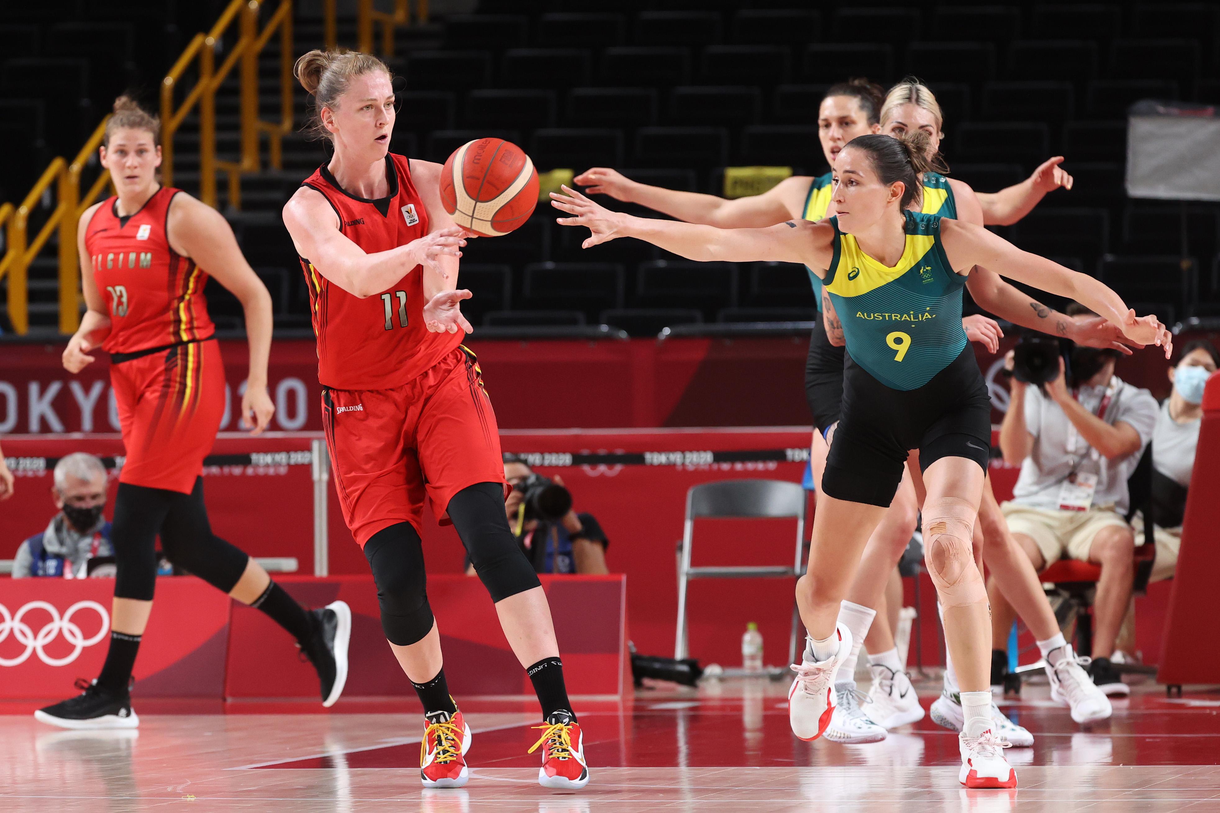 Australia v Belgium Women's Basketball - Olympics: Day 4
