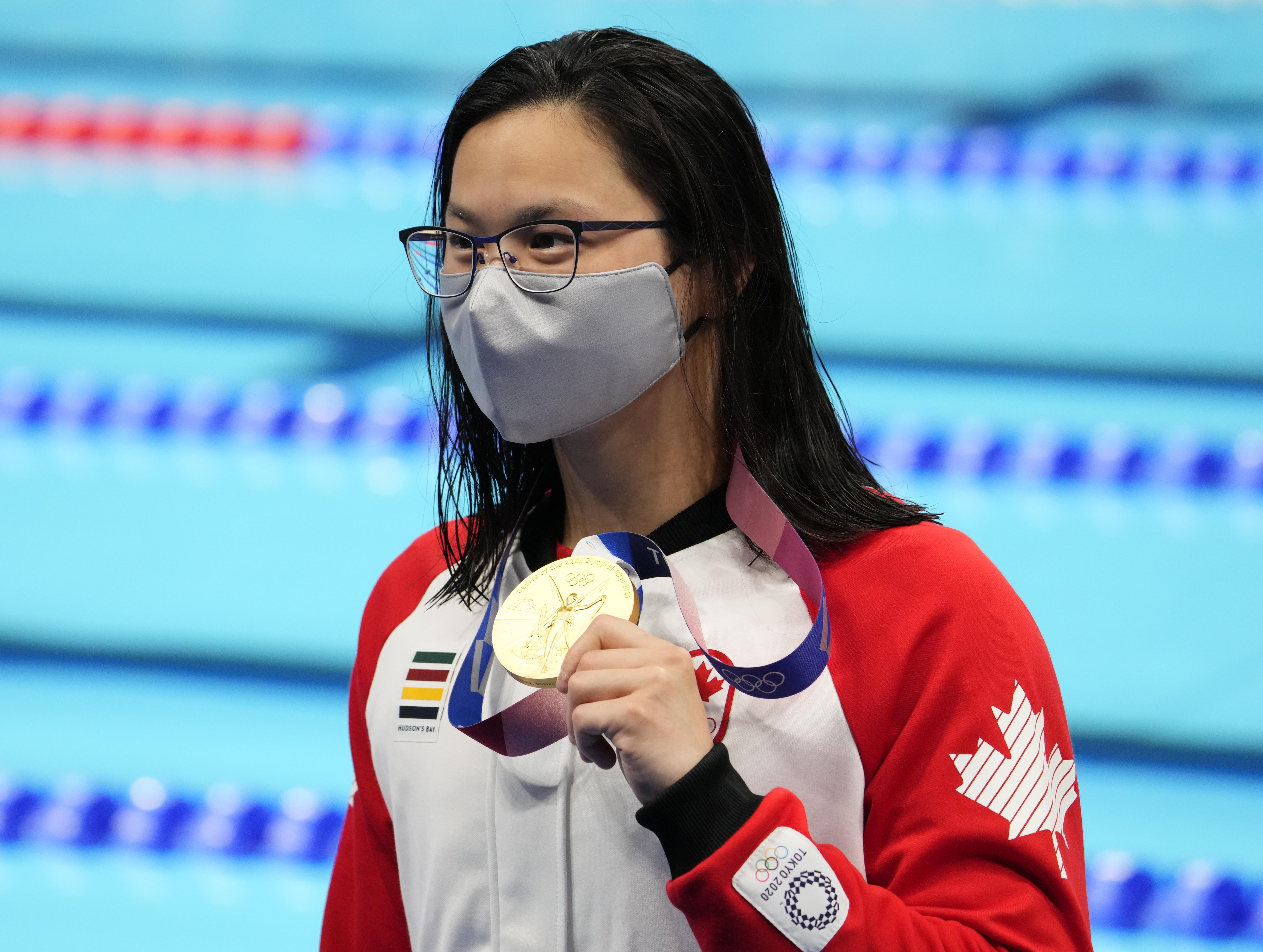 Olympics: Swimming-July 26