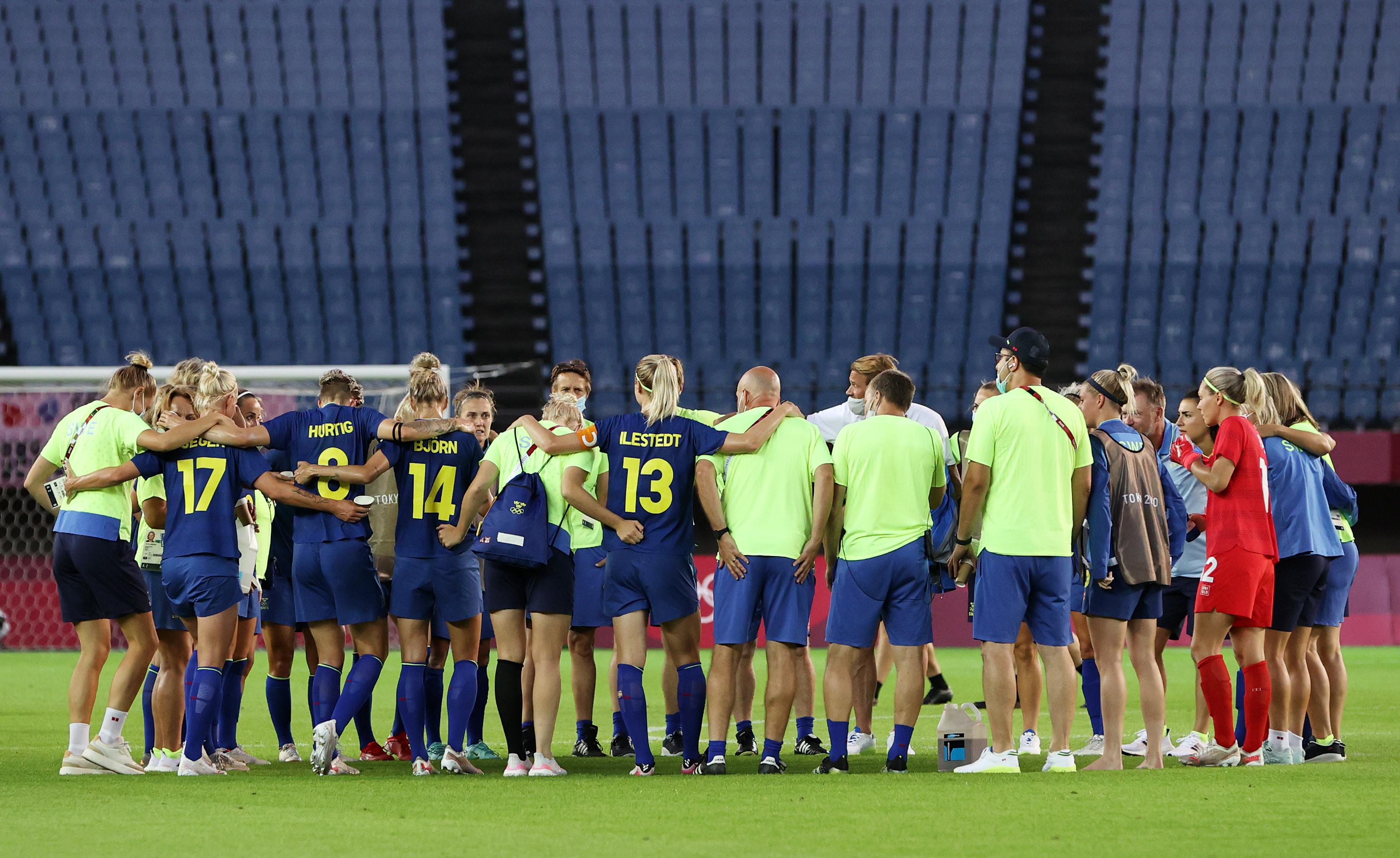 New Zealand vs Sweden: Women's Football - Olympics: Day 4