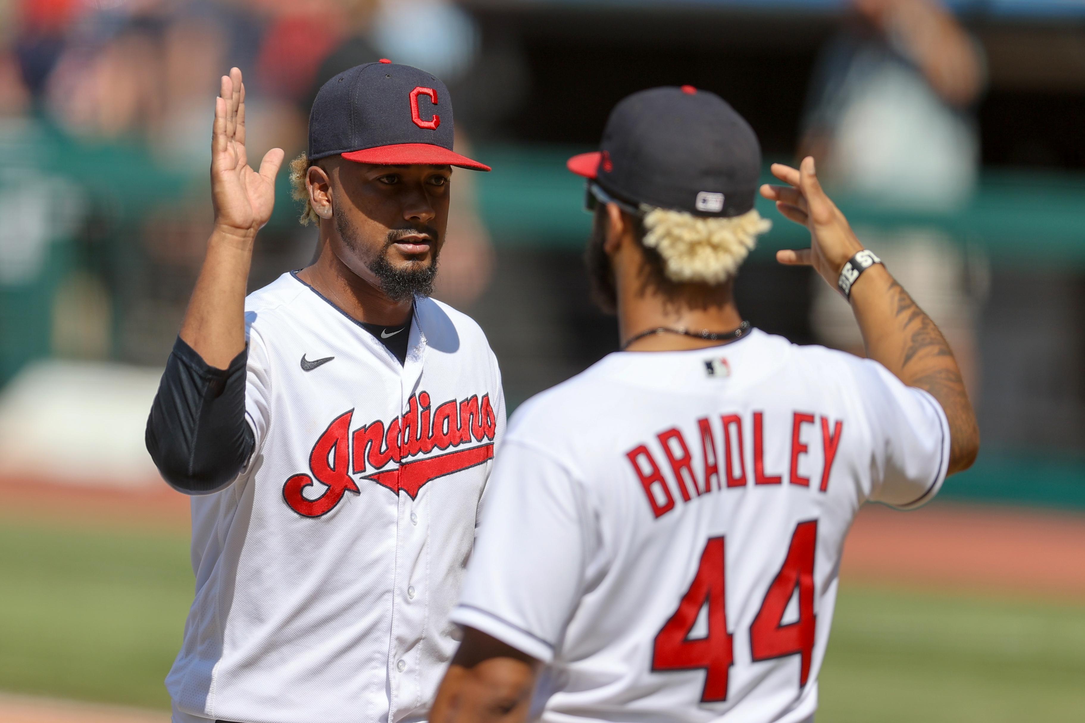 MLB: JUL 25 Rays at Indians