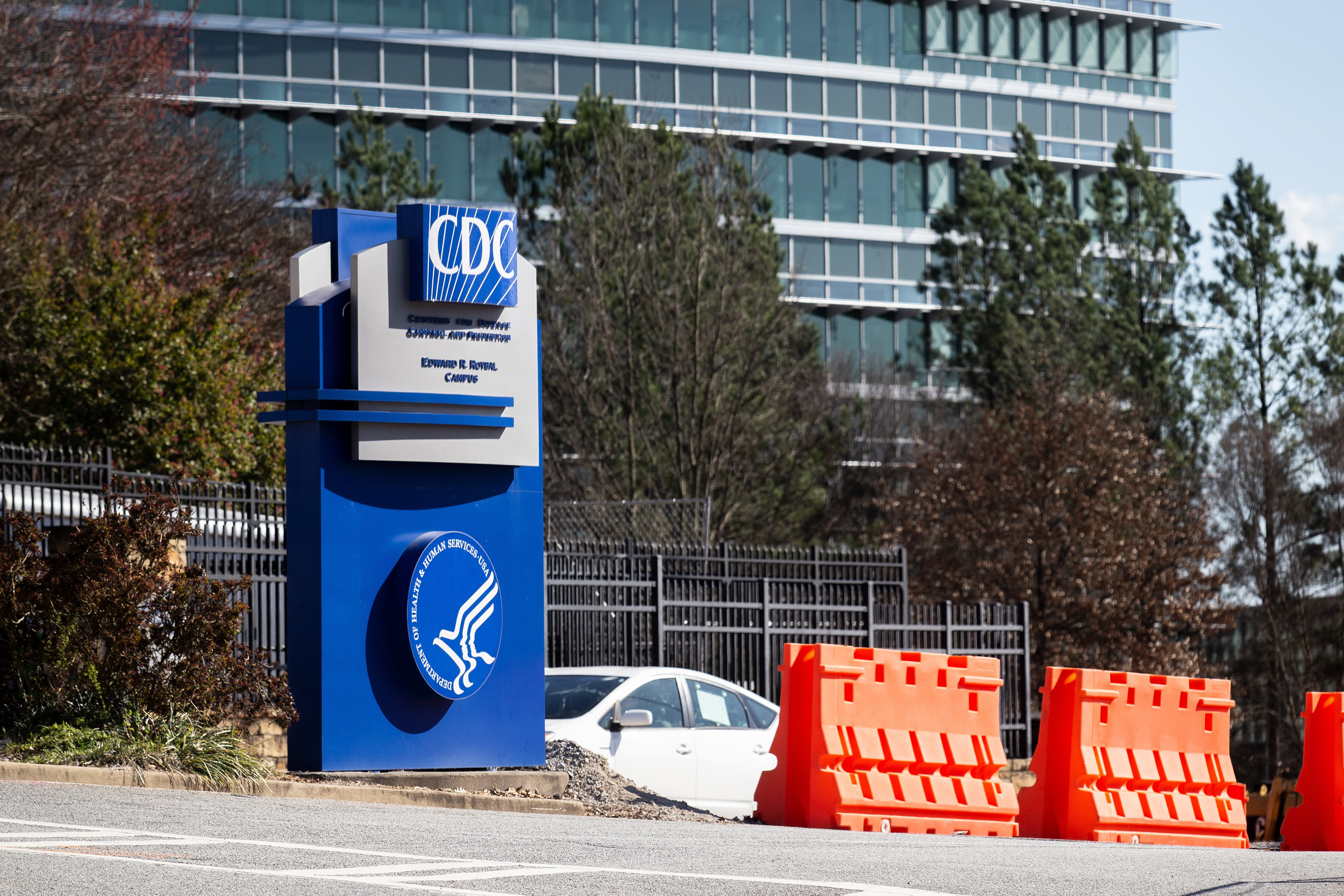 This March 6, 2020, file photo, shows the headquarters for Centers for Disease Control and Prevention in Atlanta.