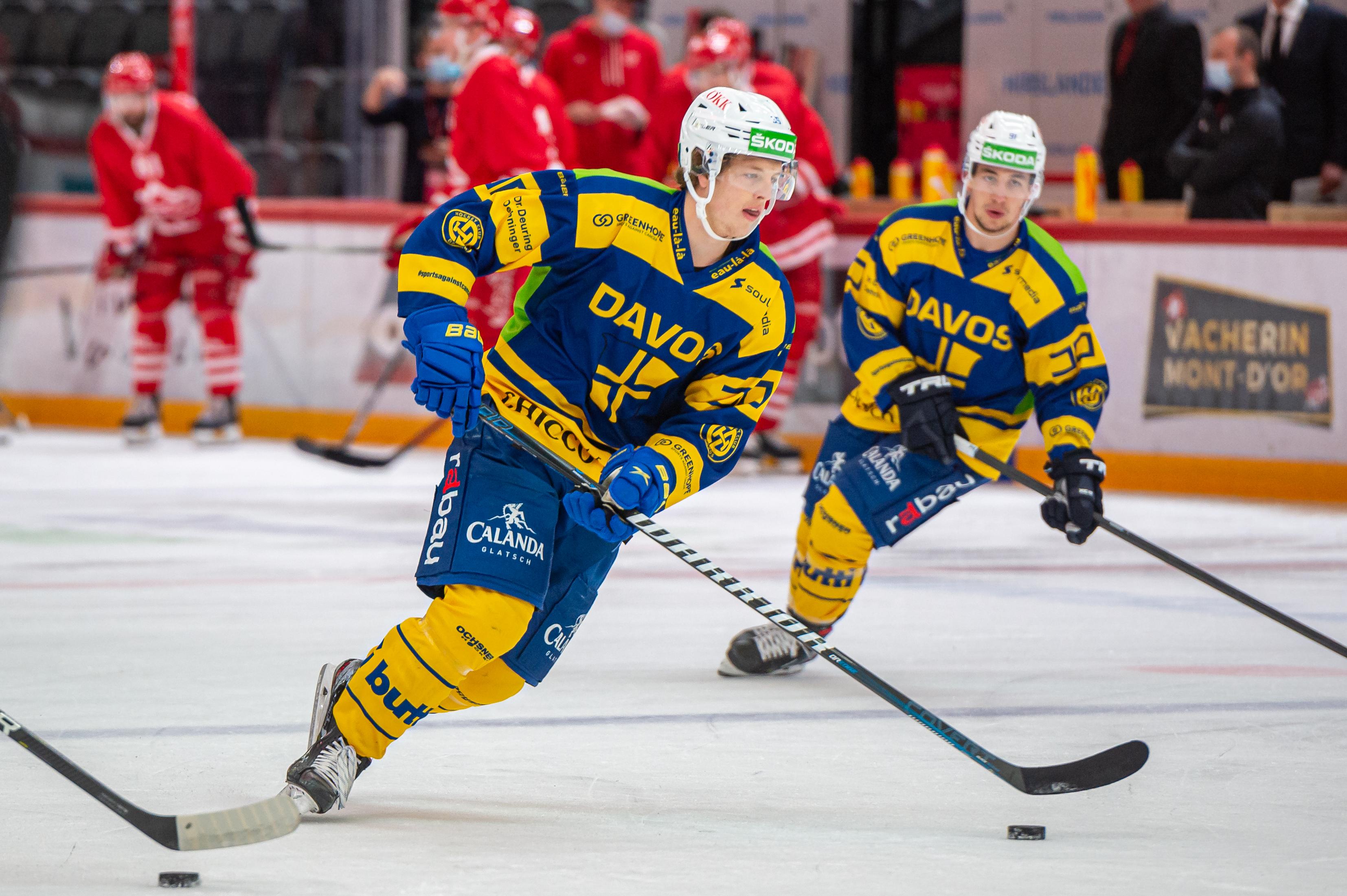 Lausanne HC v HC Davos - Ice Hockey National League