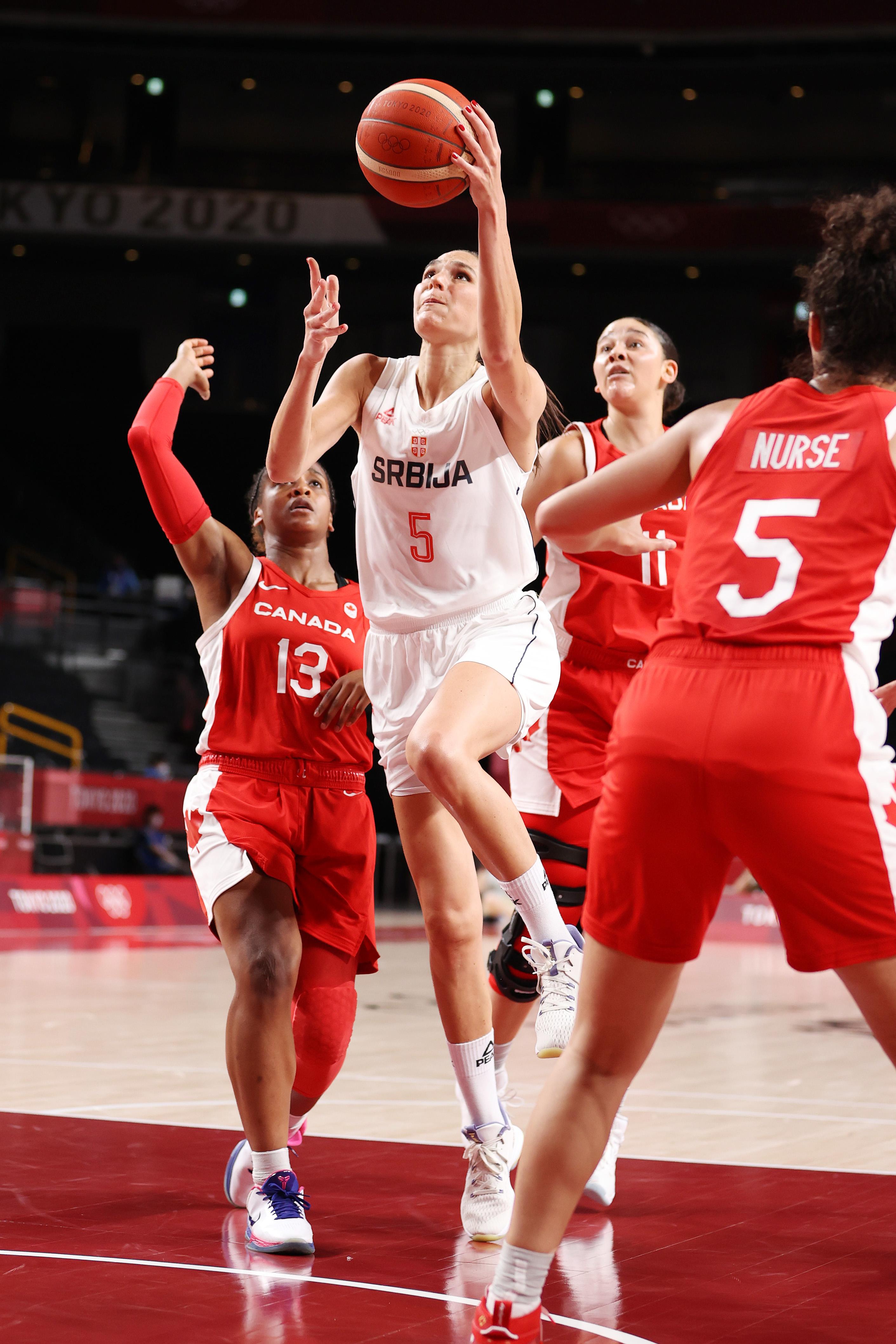 Serbia v Canada Women's Basketball - Olympics: Day 3