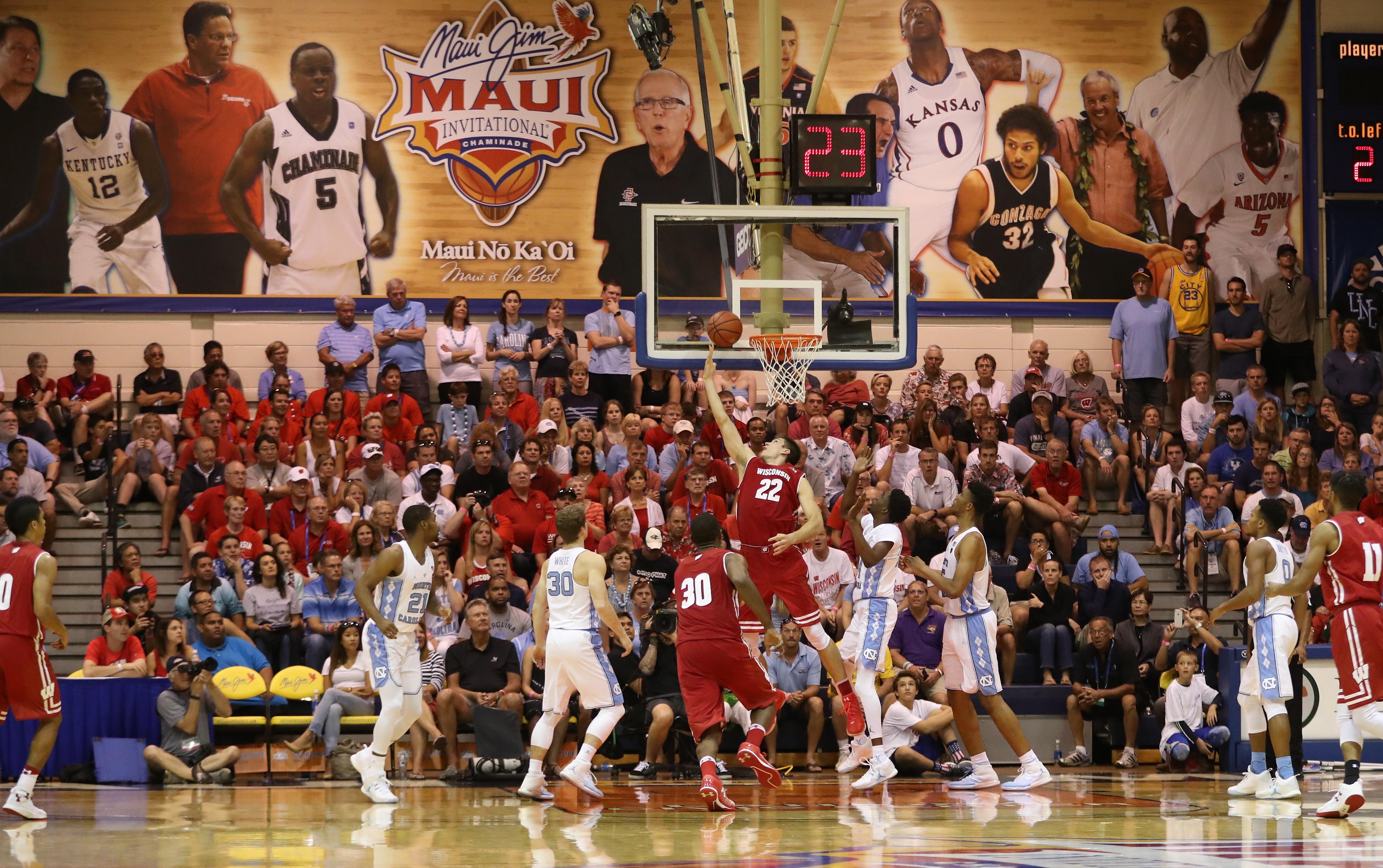Maui Invitational - Wisconsin v North Carolina