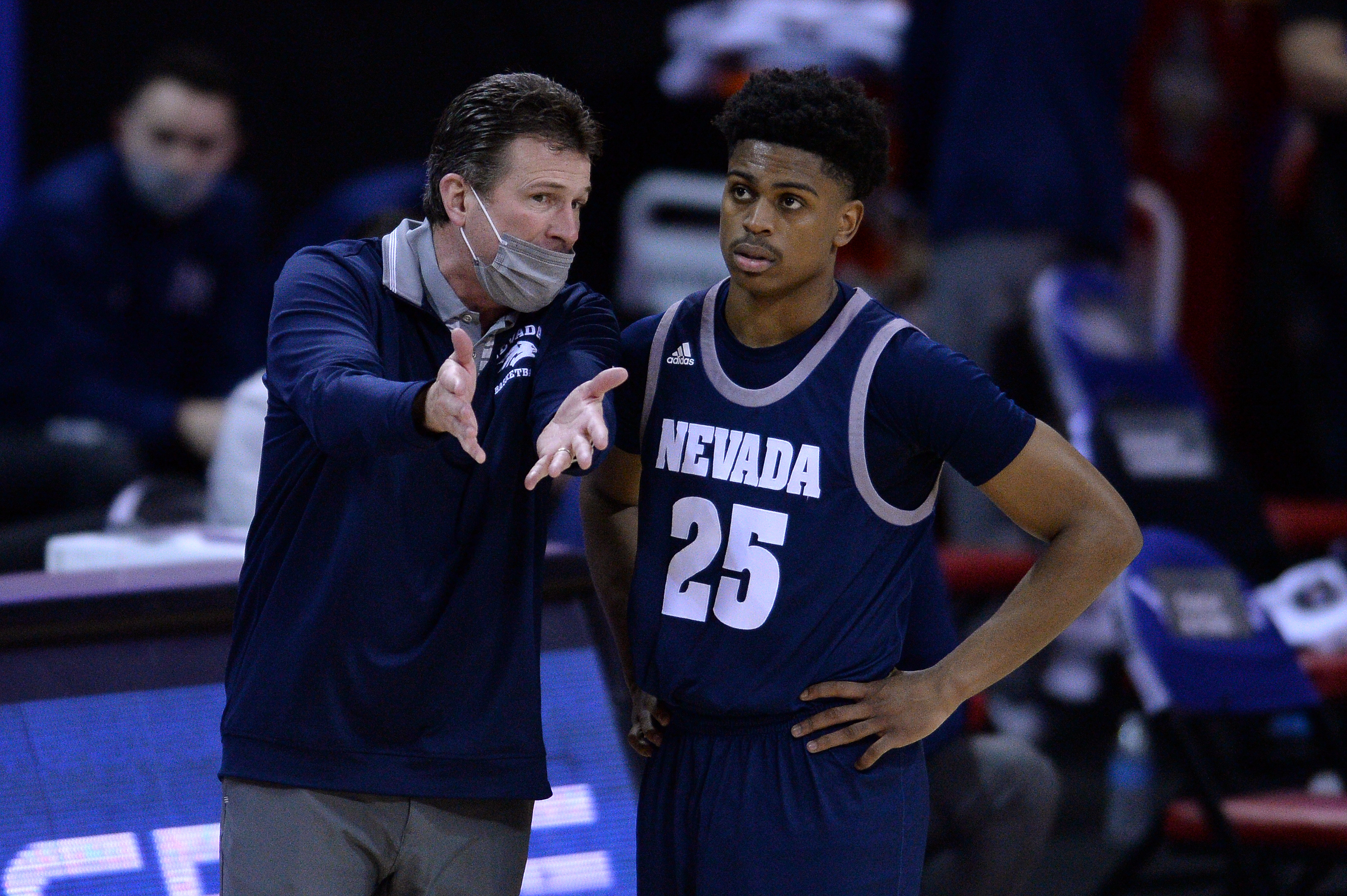 NCAA Basketball: Mountain West Conference Tournament- San Diego St vs Nevada