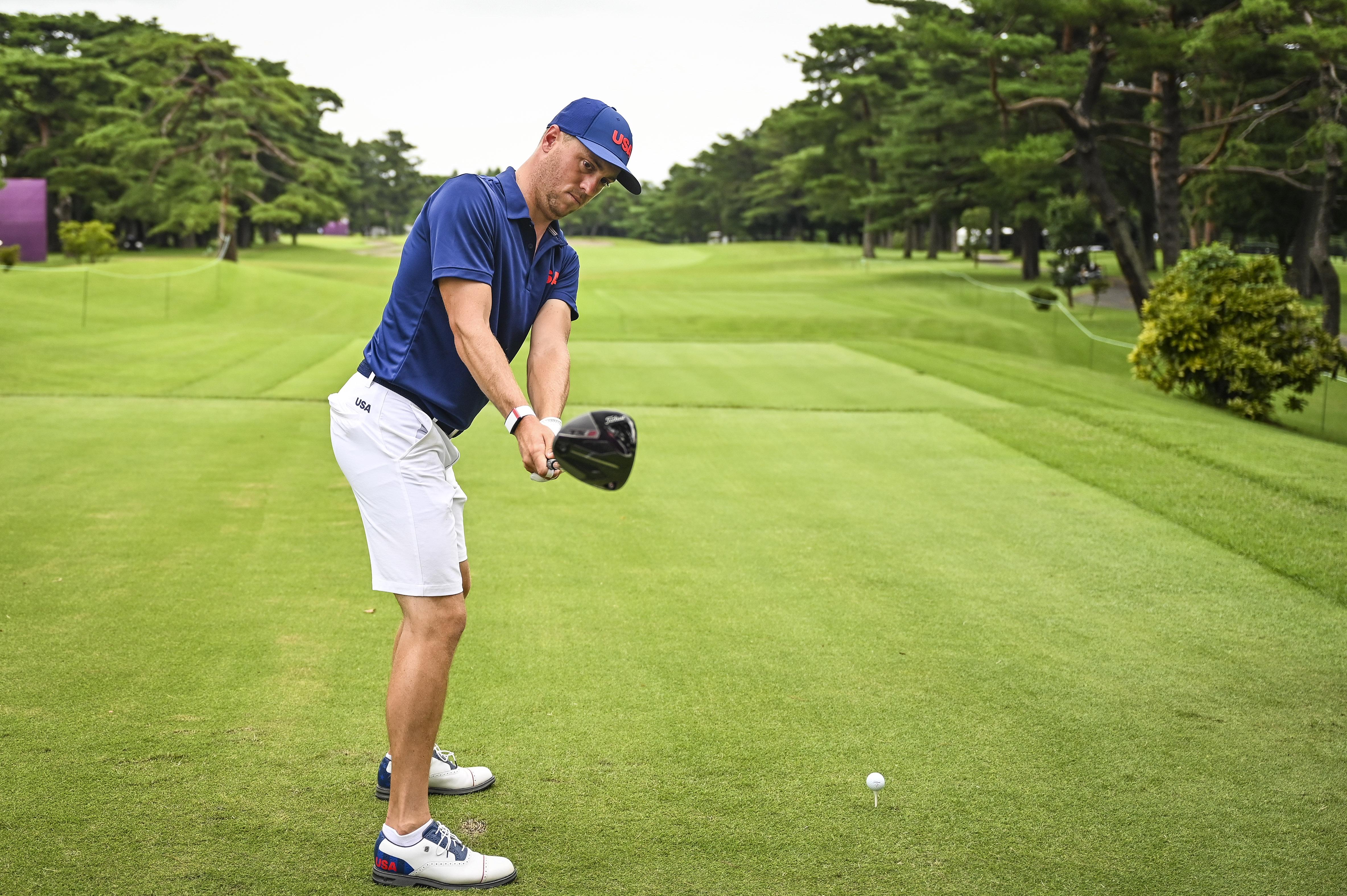 Golf - Olympics: Day 4