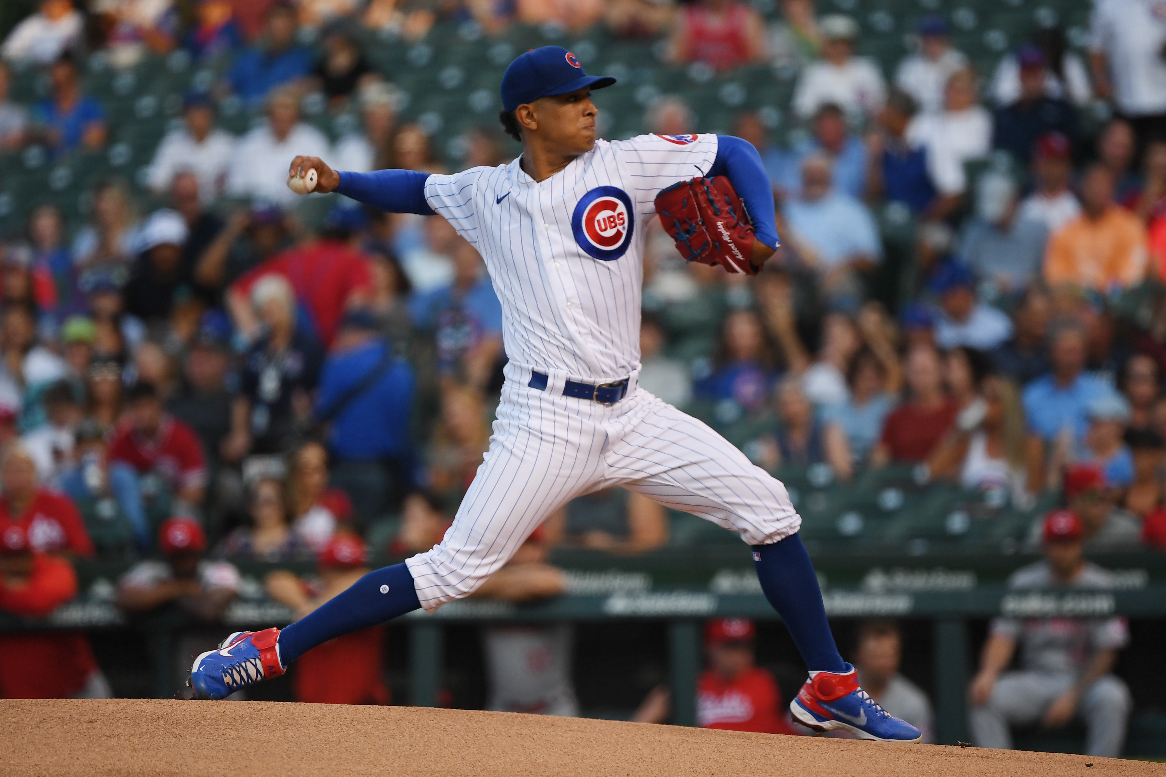 Cubs starter Adbert Alzolay  has shown he can handle the physical toll of a full season. His next step is figuring out left-handed hitters like the ones the Reds stacked against him.