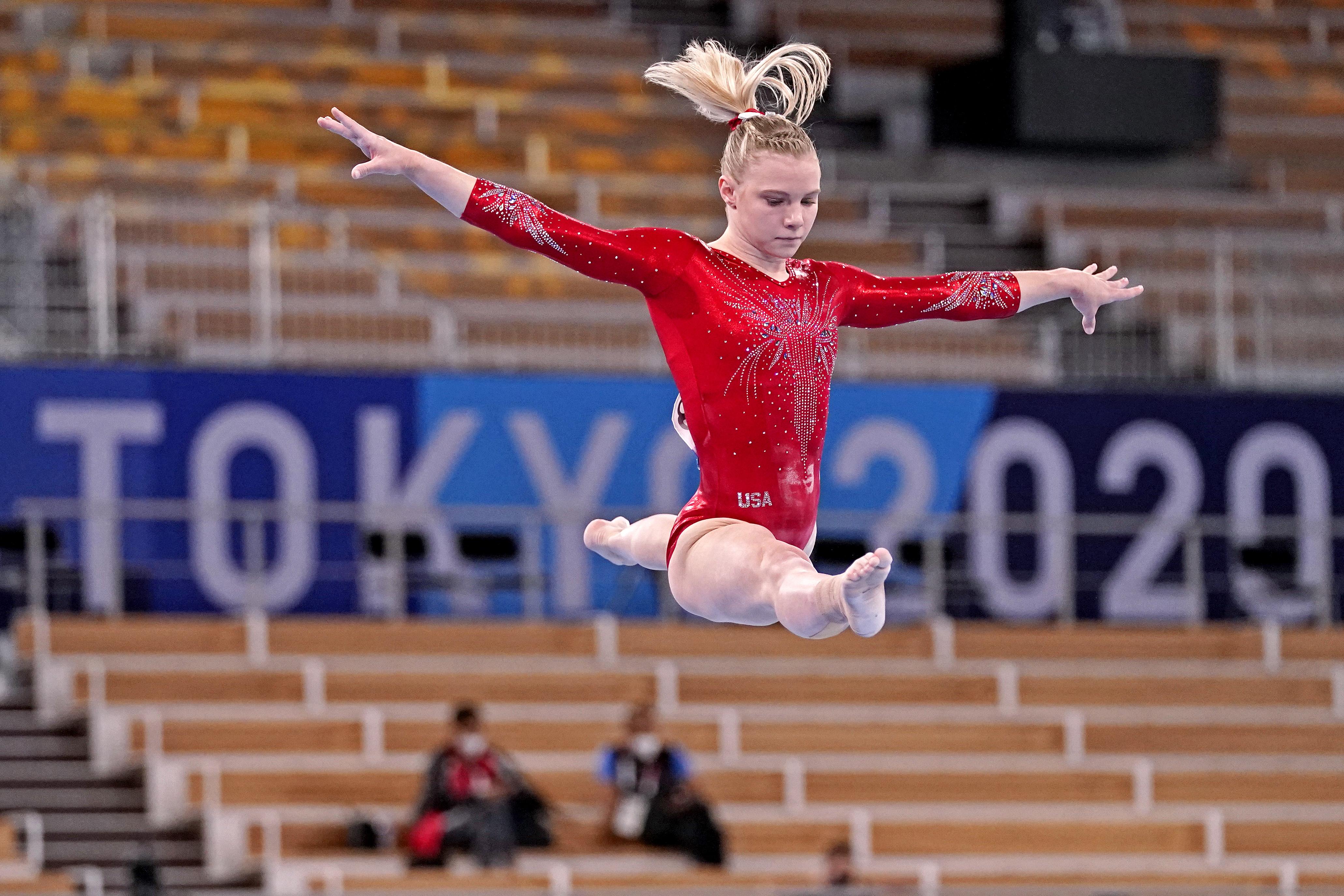 Olympics: Gymnastics -July 25