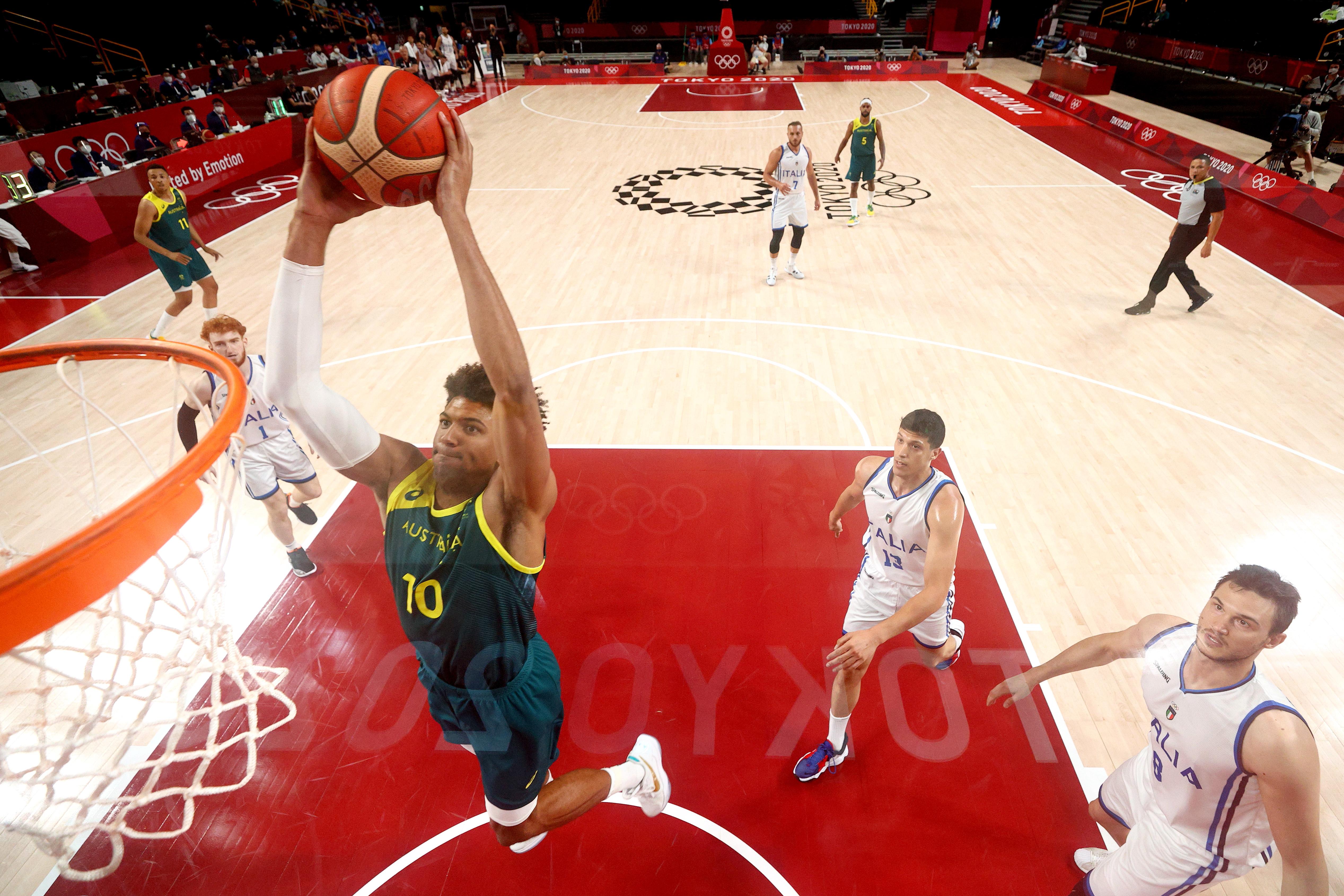 Italy v Australia Men's Basketball - Olympics: Day 5