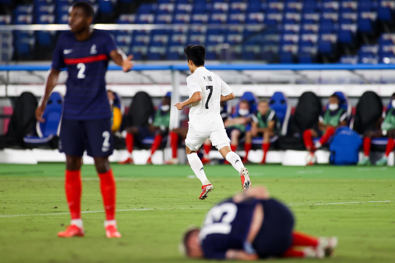 France v Japan: Men's Football - Olympics: Day 5