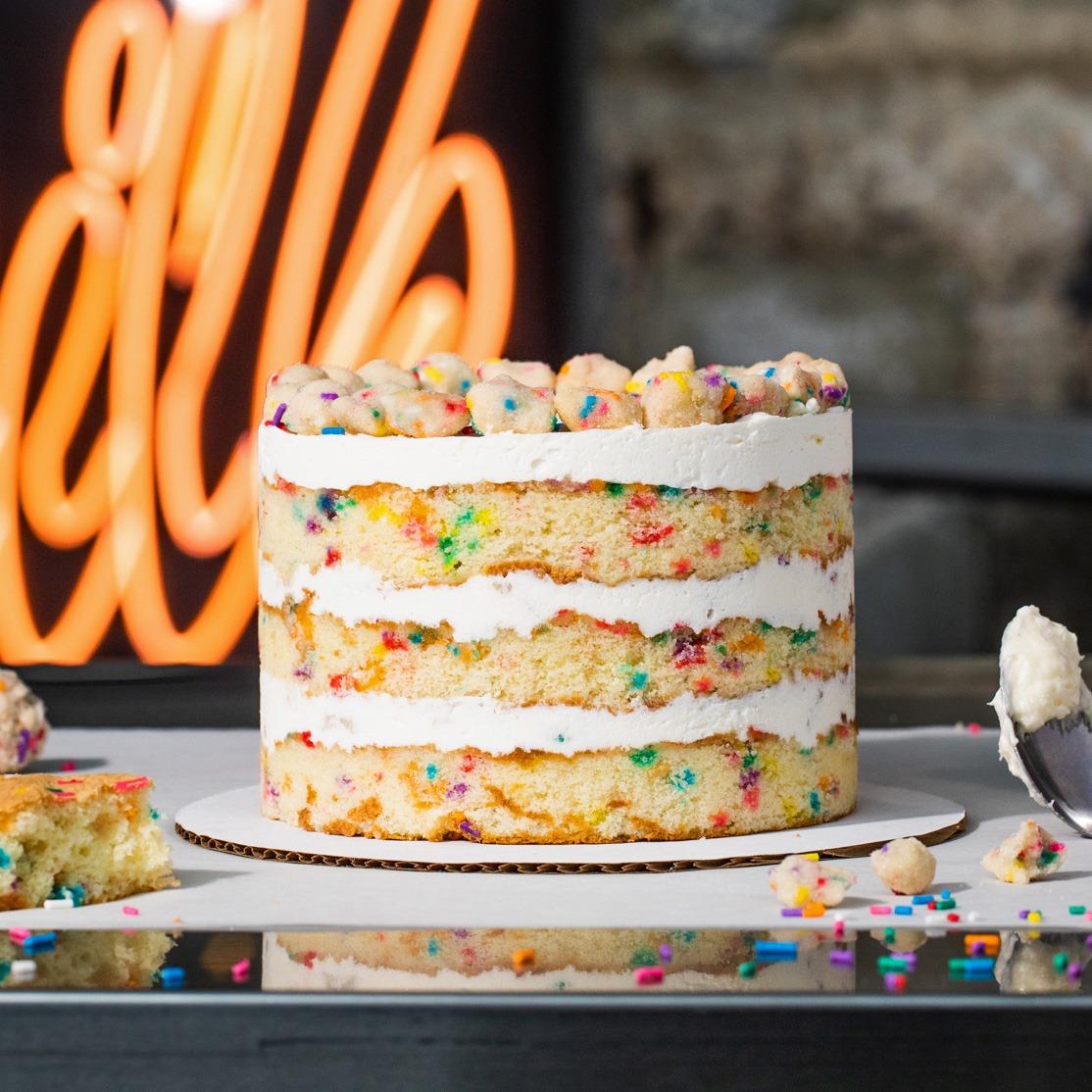 The birthday cake from Milk Bar