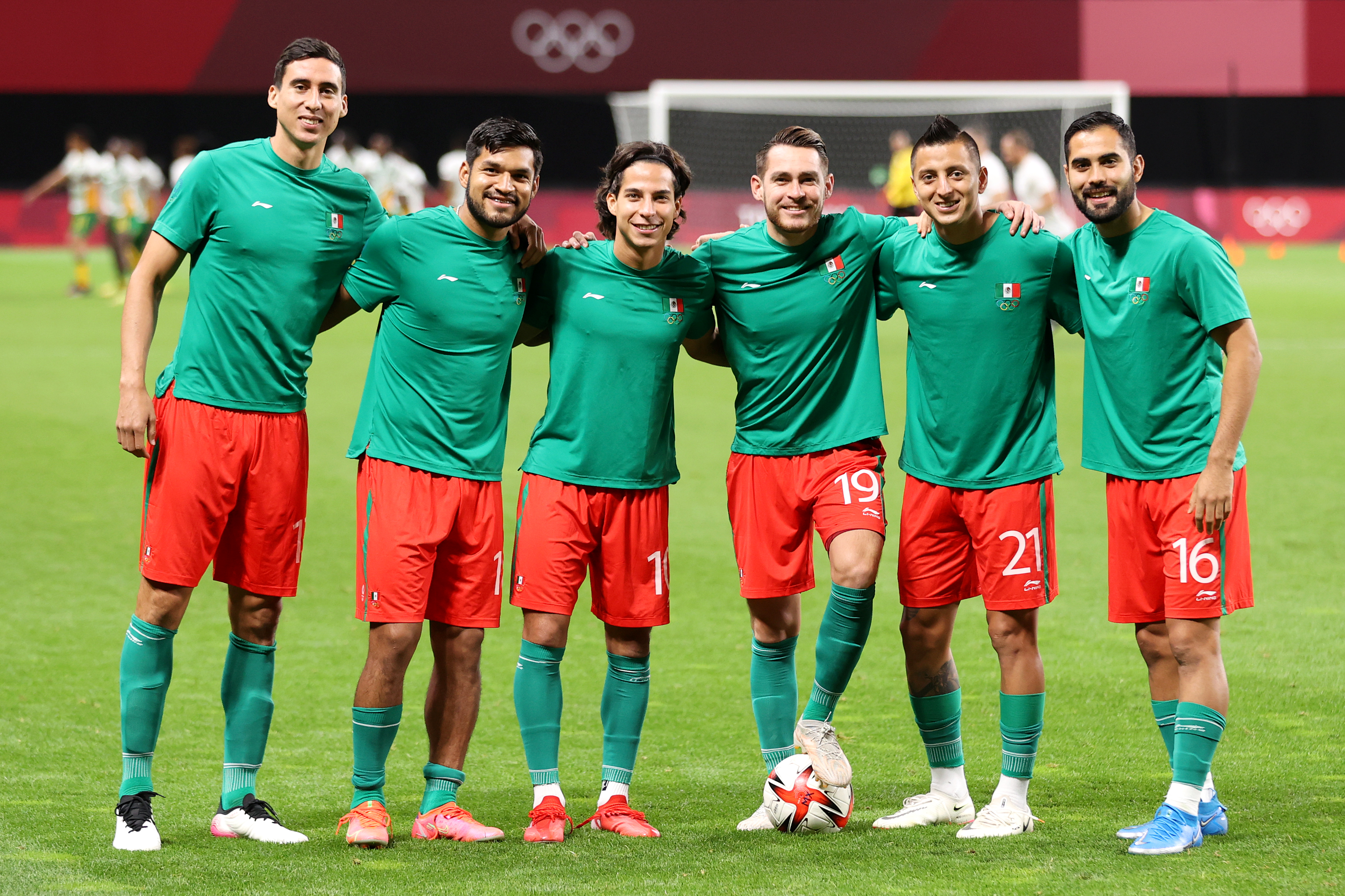 South Africa v Mexico: Men's Football - Olympics: Day 5