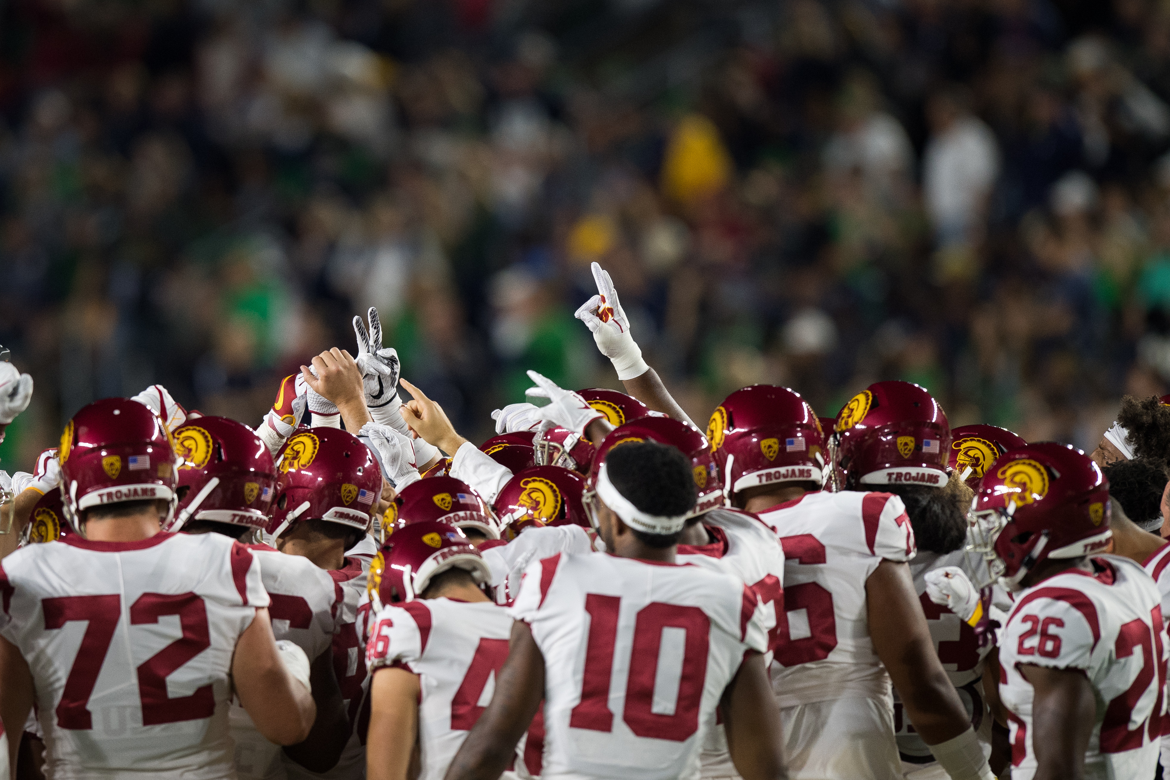 COLLEGE FOOTBALL: OCT 21 USC at Notre Dame
