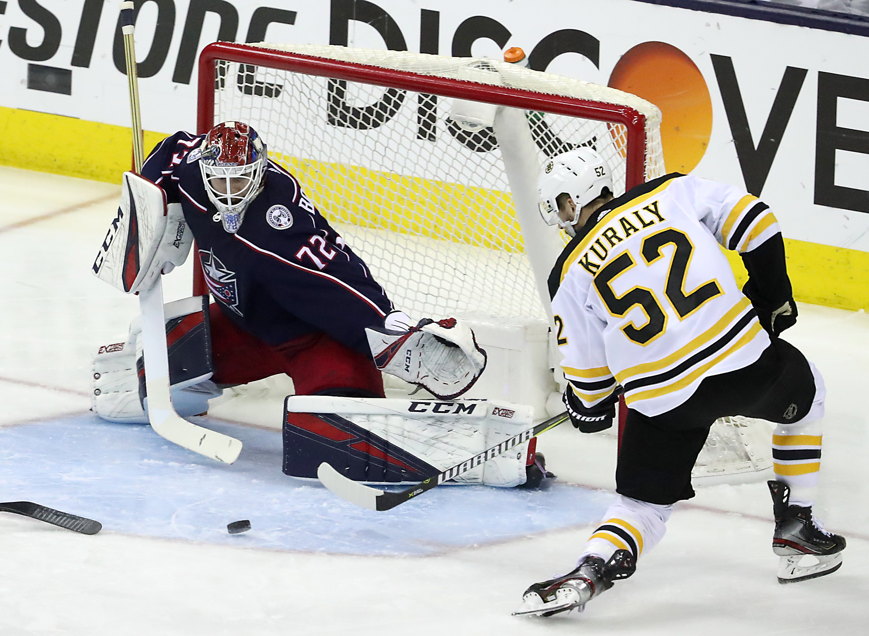 2019 Stanley Cup Playoffs: Boston Bruins Vs. Columbus Blue Jackets At Nationwide Arena