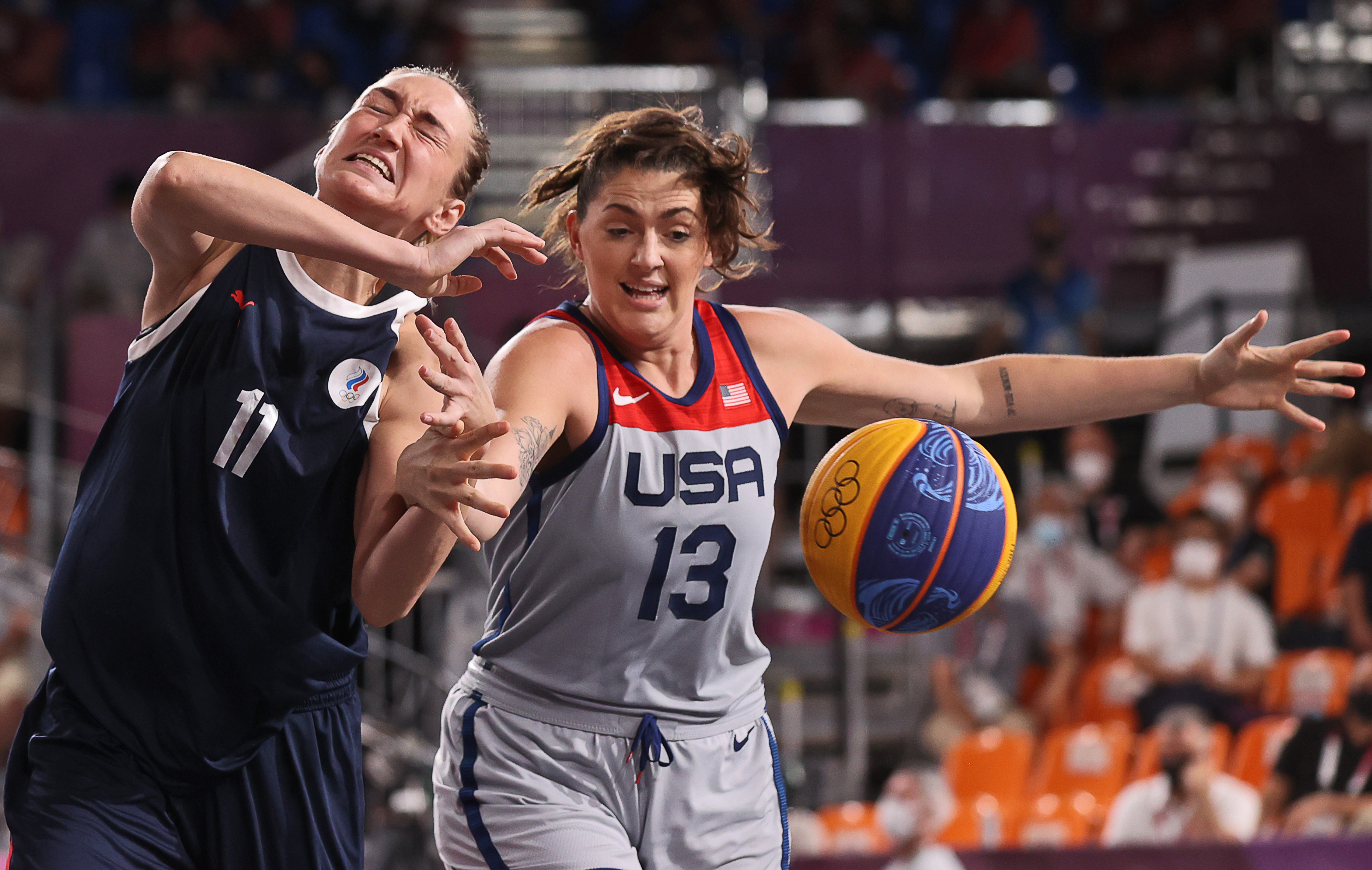 Tokyo 2020 Olympics: Women's 3x3 Basketball Final