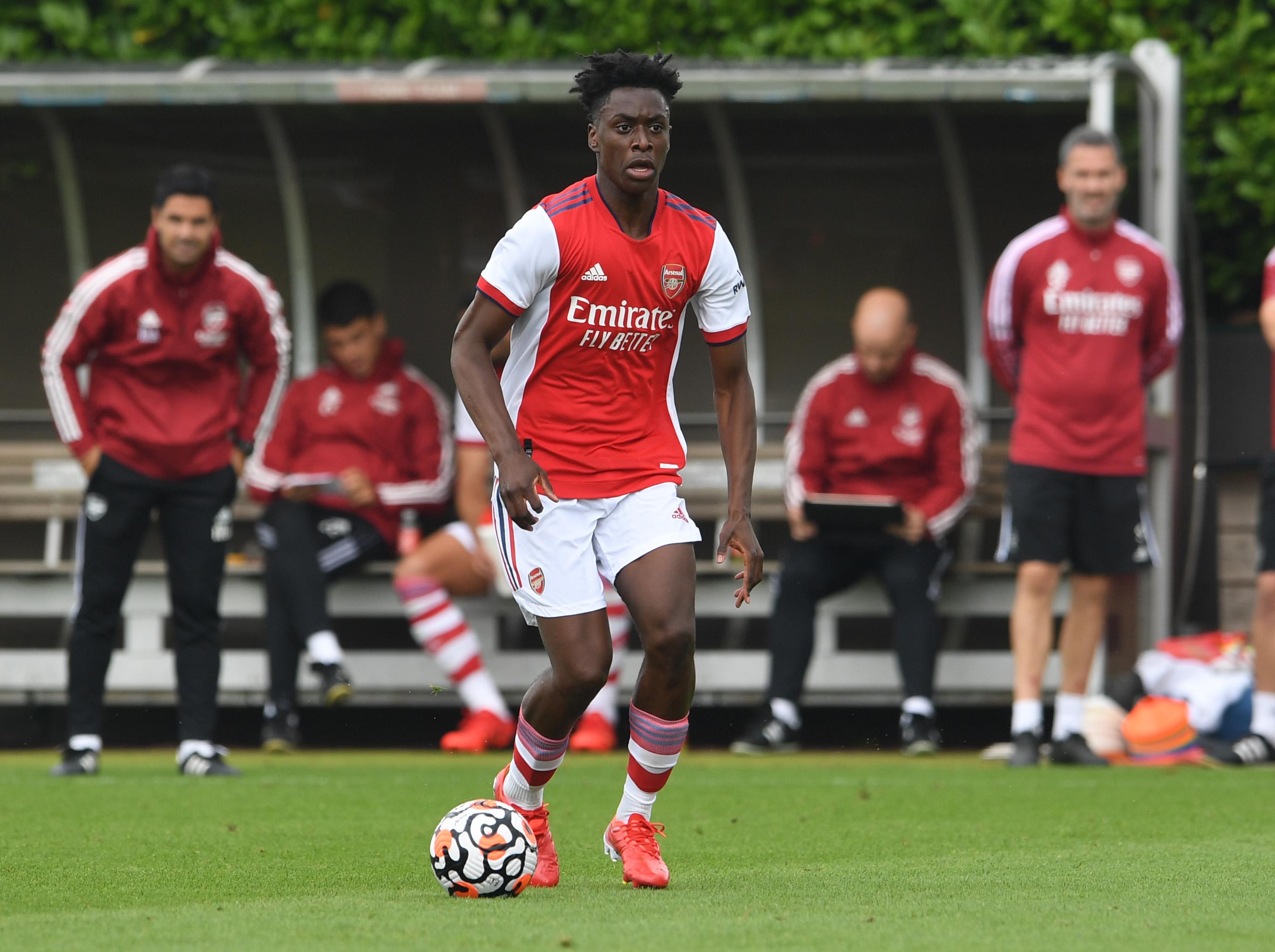 Albert Sambi Lokonga - Arsenal - Premier League