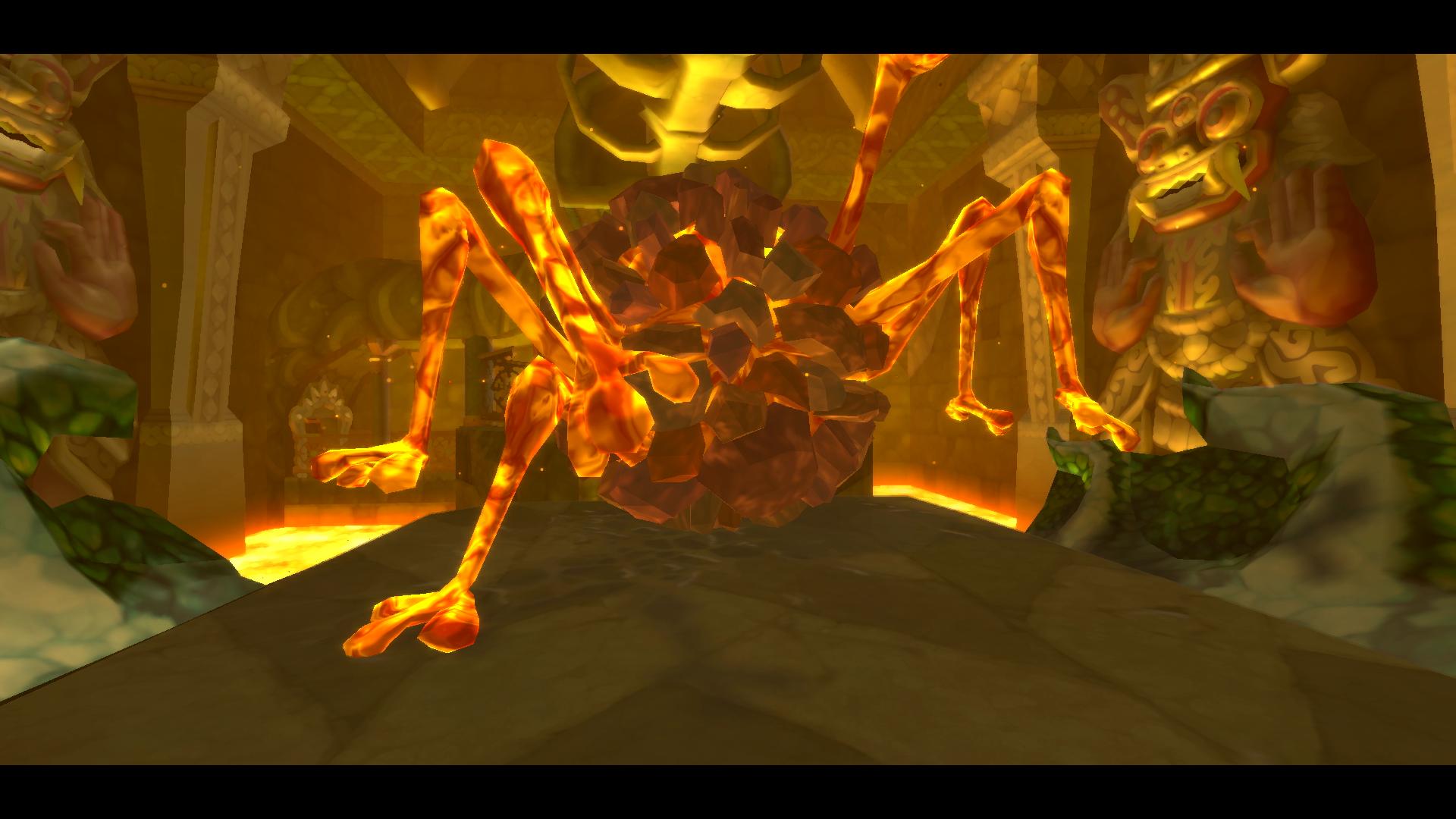 Pyroclastic Fiend Scaldera from The Legend of Zelda: Skyward Sword HD