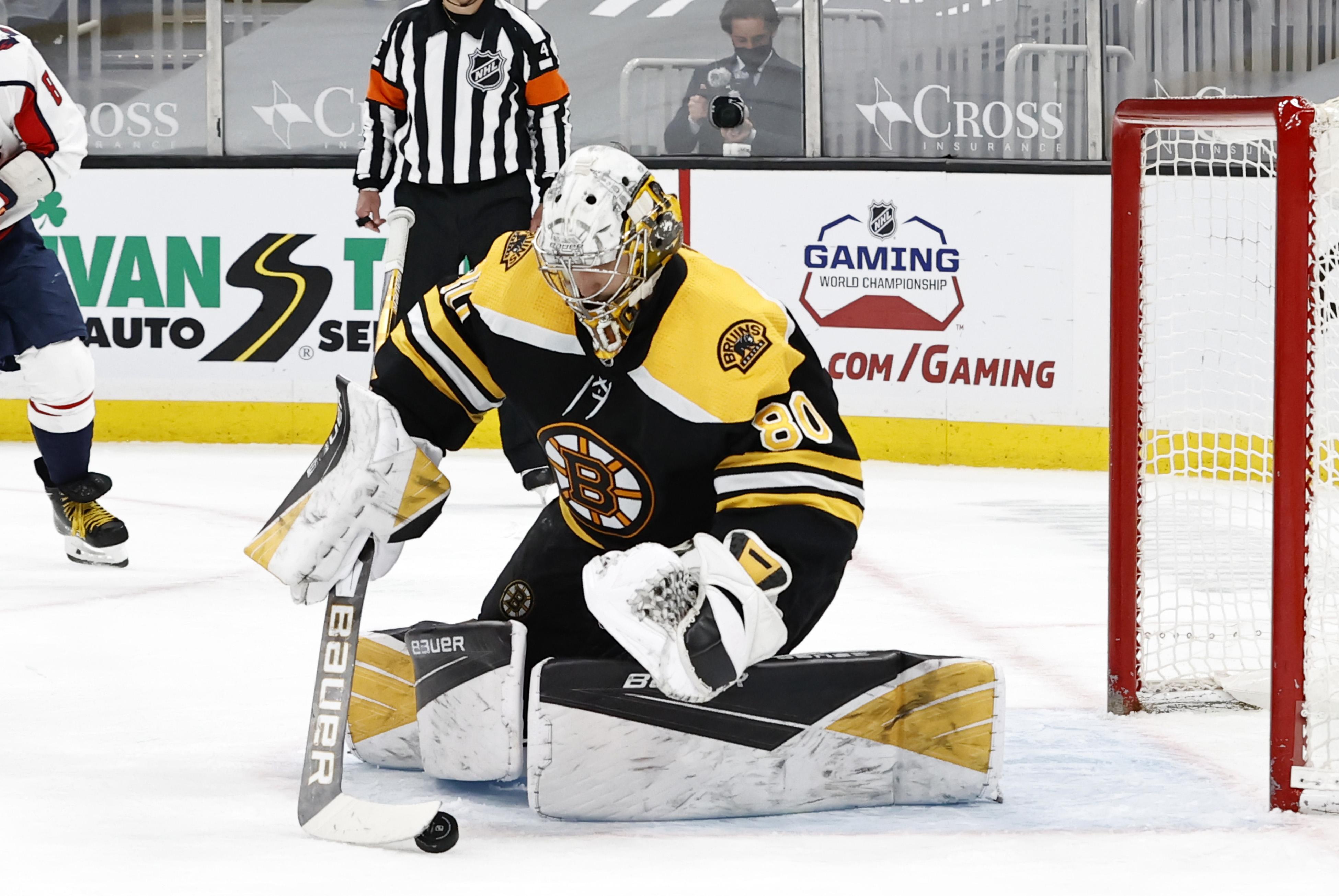 NHL: APR 11 Capitals at Bruins