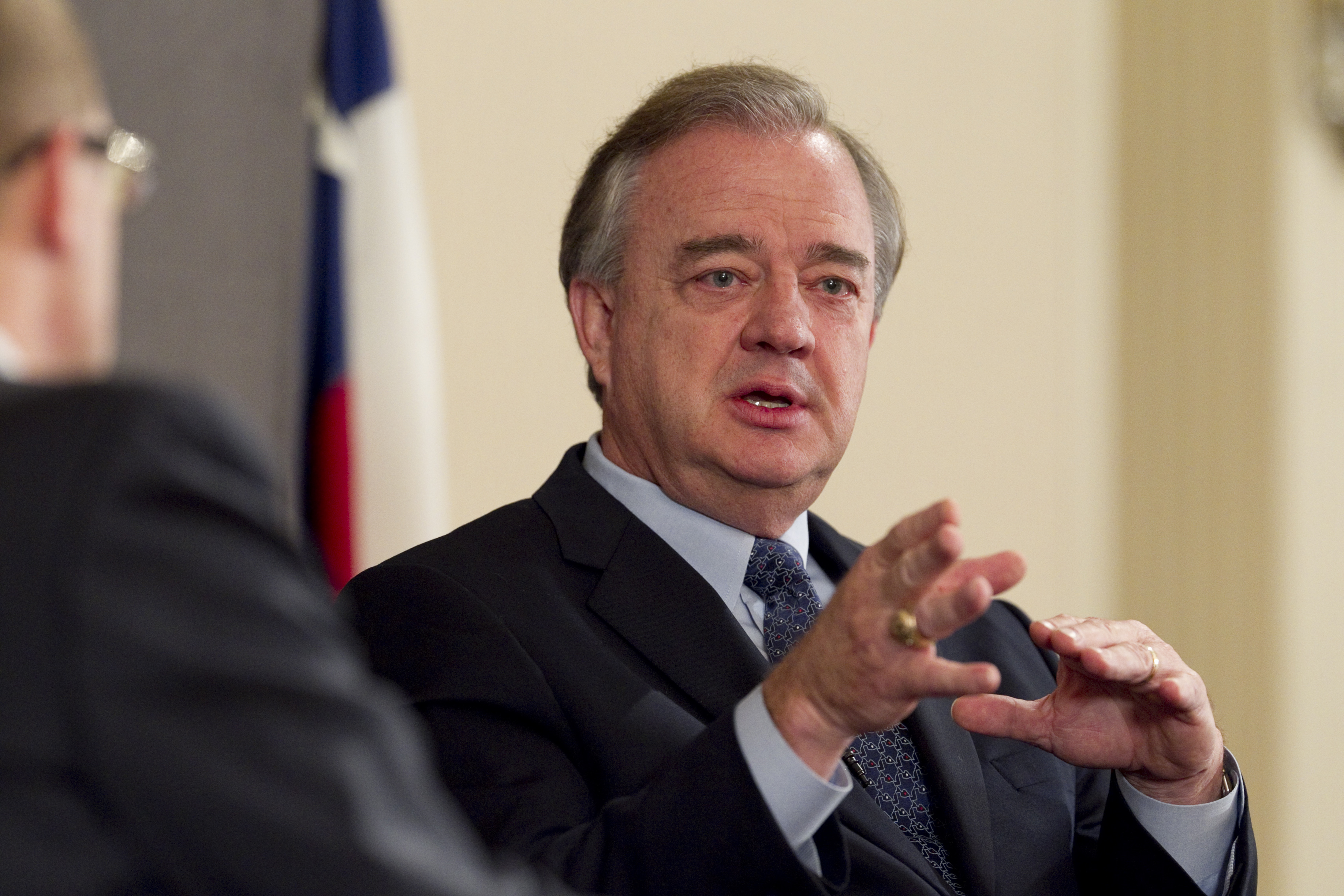 Texas A&M University Chancellor John Sharp