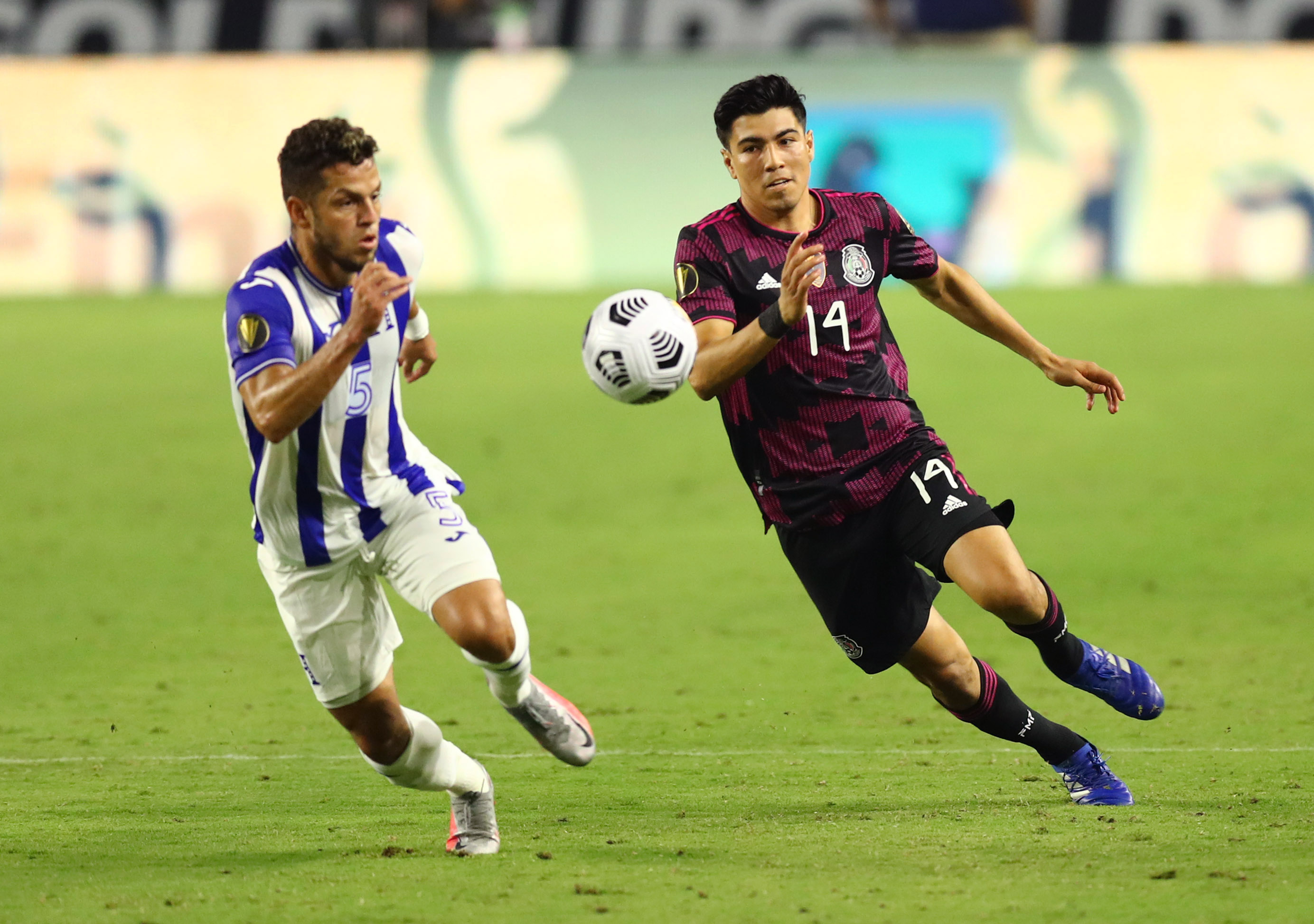 Soccer: CONCACAF Gold Cup Soccer-Mexico at Honduras
