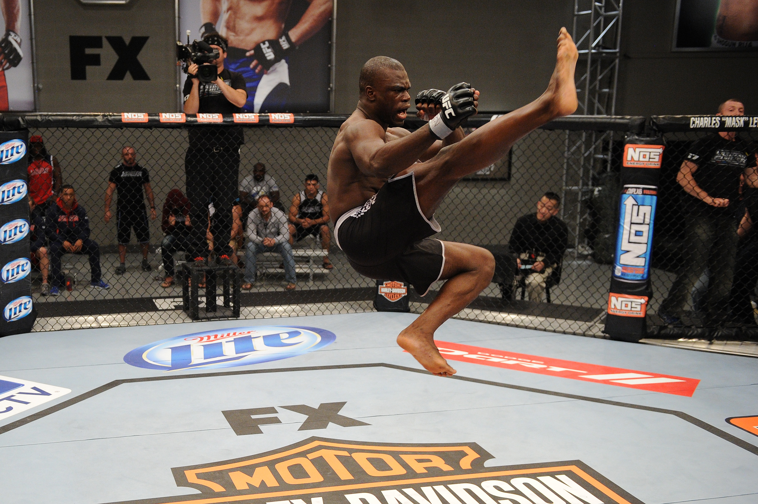 Uriah Hall put on one of the most notable highlight reels in Ultimate Fighter history.