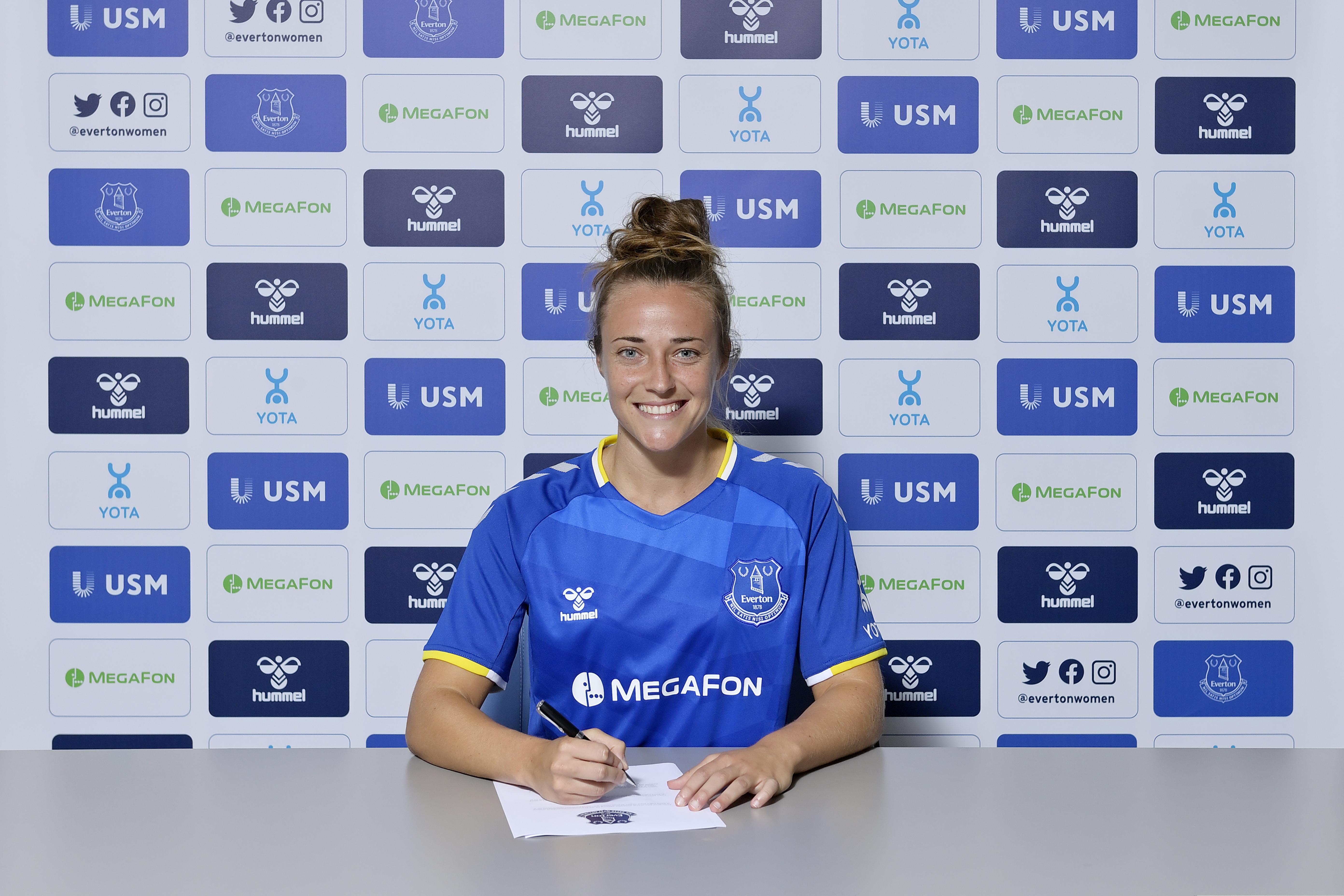Everton Women Unveil New Signing Aurora Galli