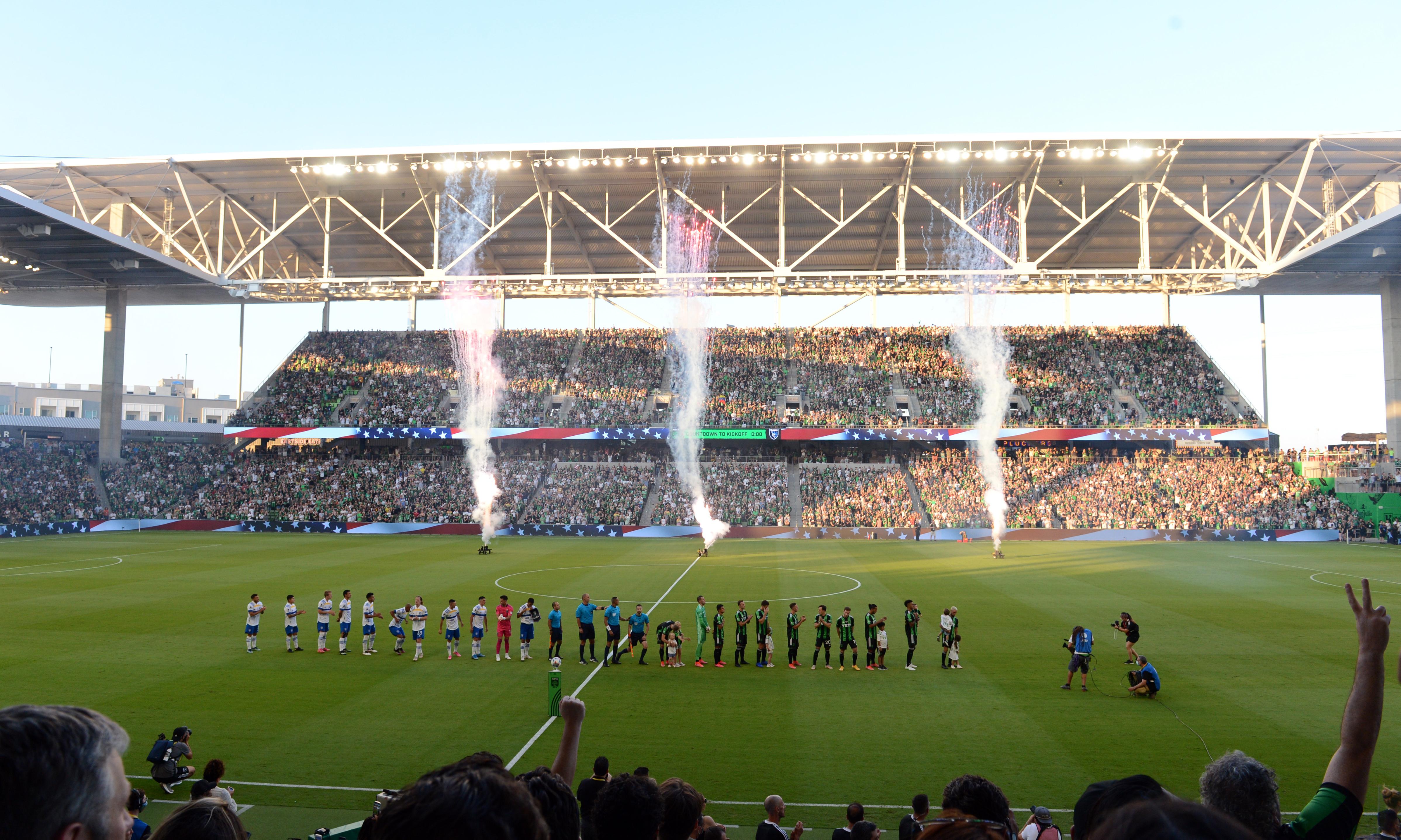 SOCCER: JUN 19 MLS - San Jose Earthquakes at Austin FC