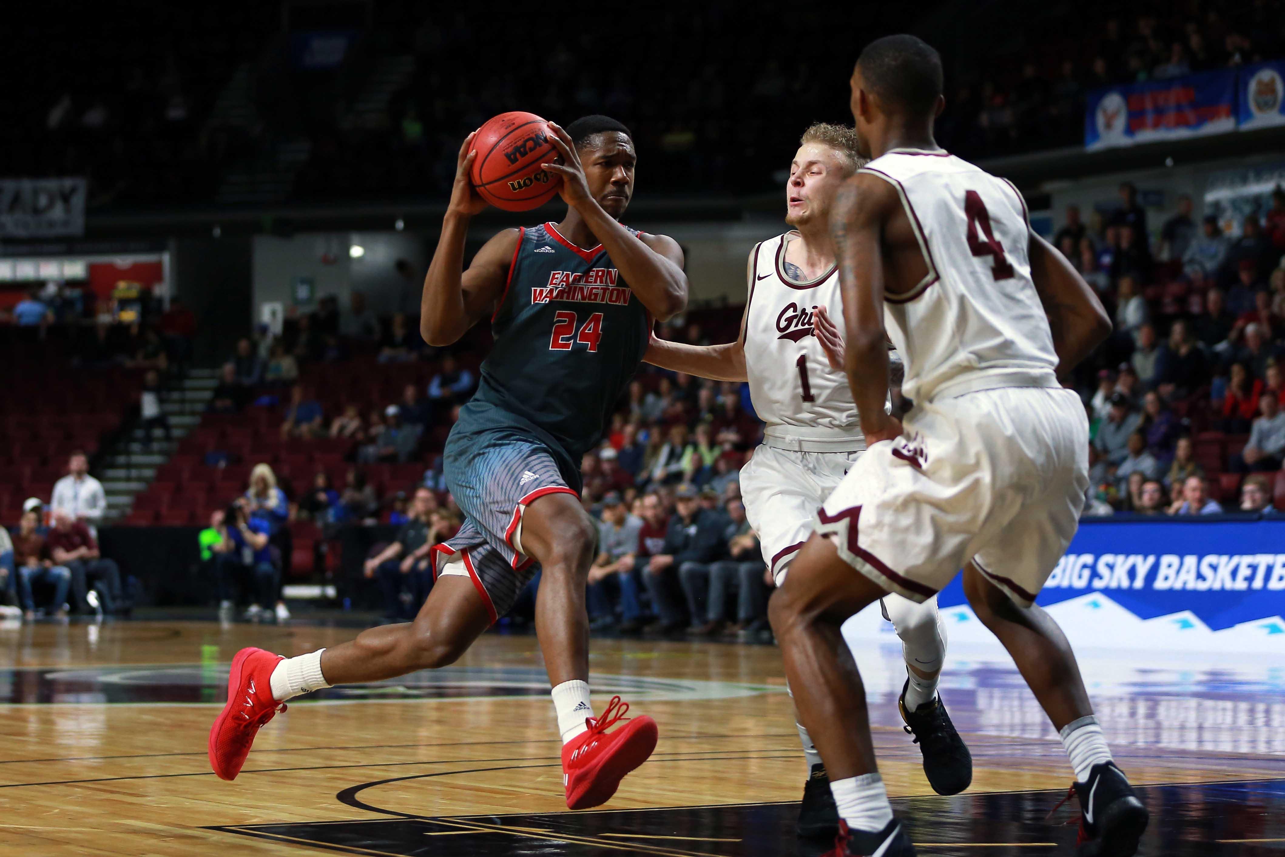 NCAA Basketball: Big Sky Conference Tournament: Montana vs Eastern Washington