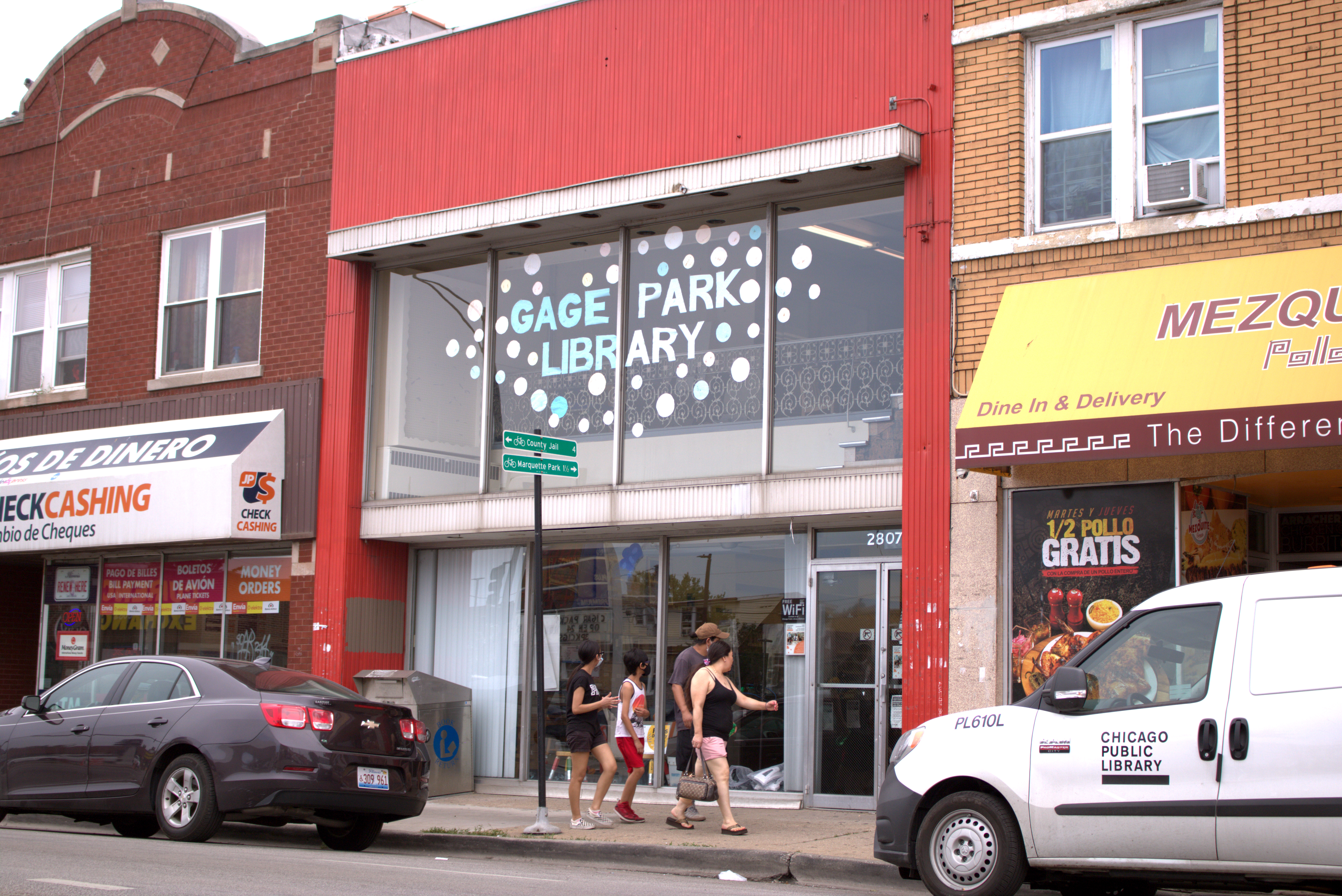 The Gage Park Latinx Council is calling on the city and the Chicago Public Library to bring a new library to the community.