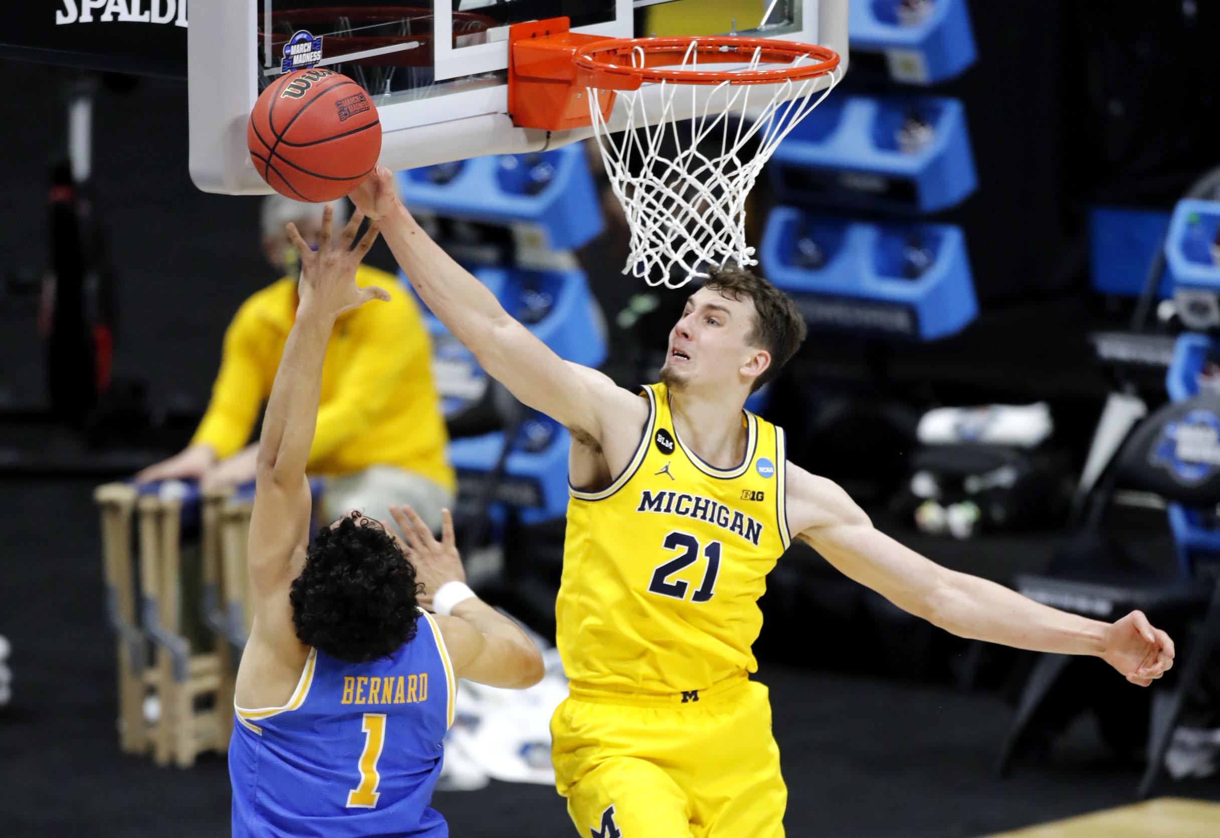 NCAA Basketball: NCAA Tournament-UCLA vs Michigan