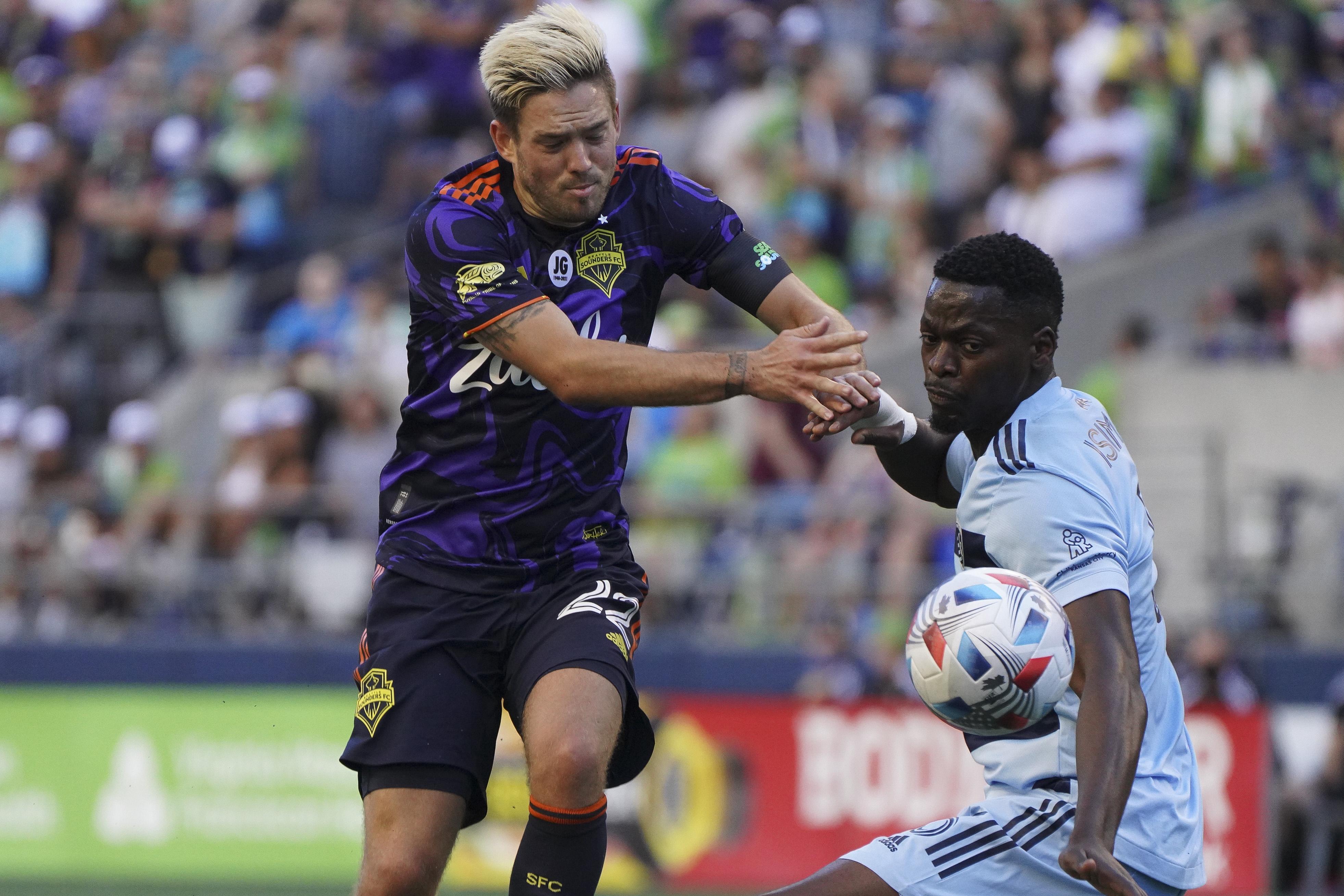 SOCCER: JUL 25 MLS - Sporting Kansas City at Seattle Sounders FC